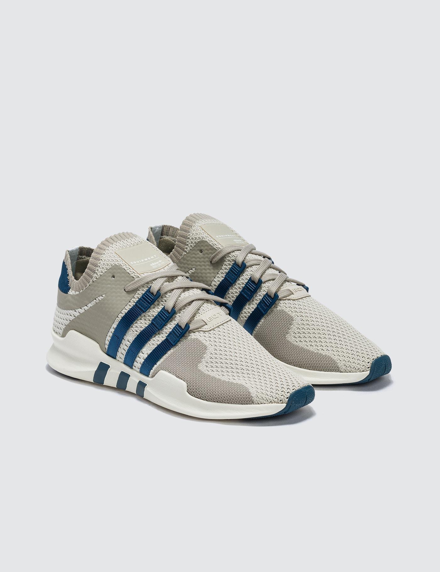 Lyst Adidas Originals Eqt Support Adv Primeknit In Blue For Men