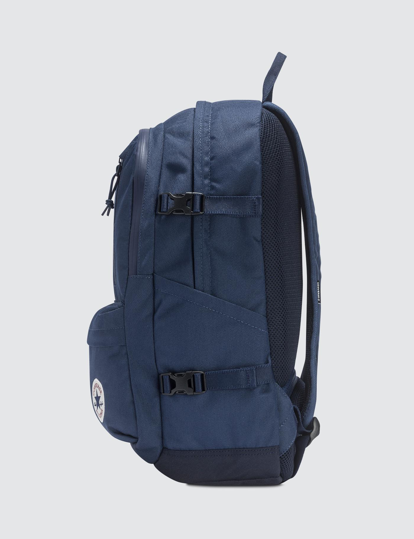 435bf5326d39 Converse Straight Edge Backpack Backpack in Blue for Men - Lyst