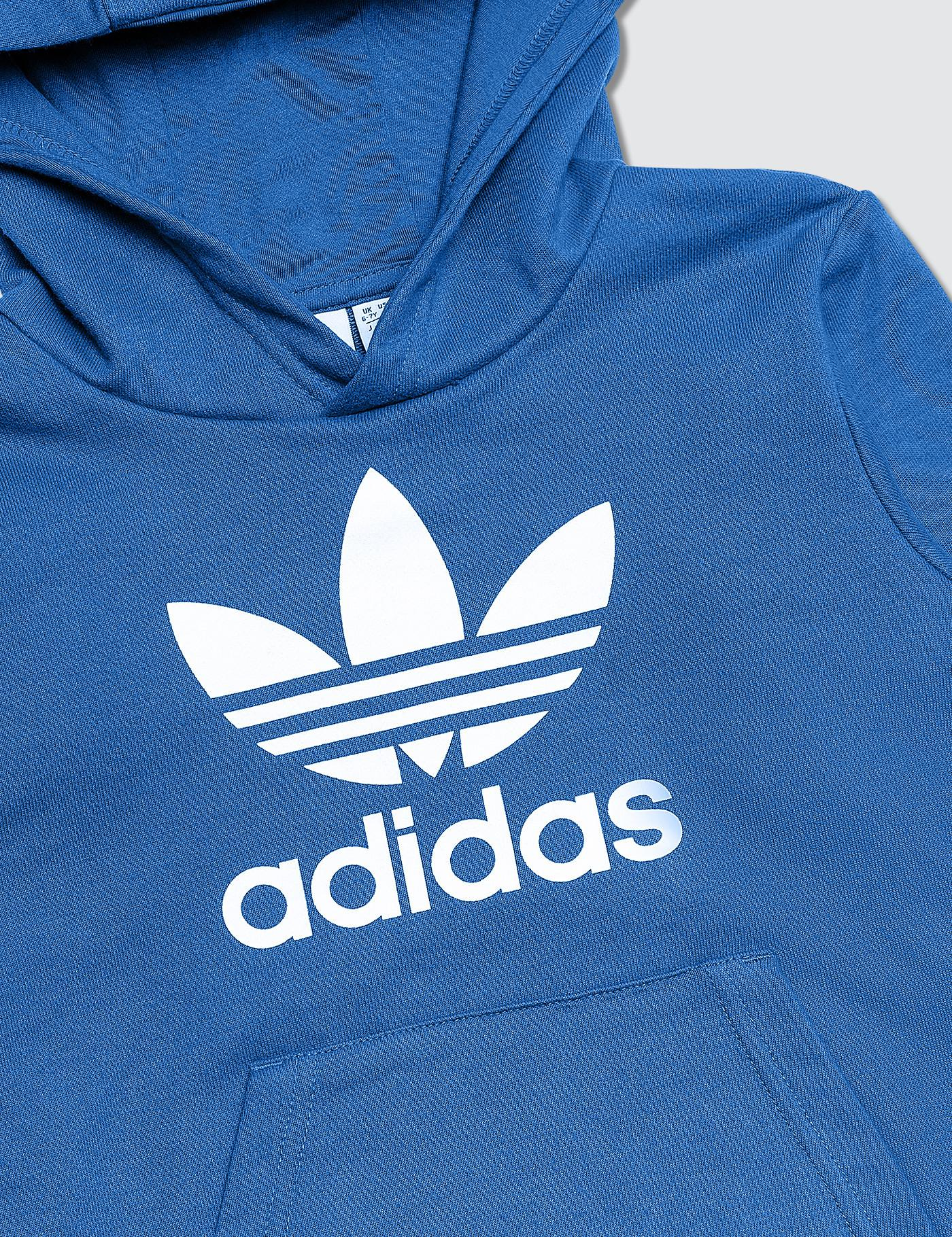 3bf901596c45 Adidas Originals - Blue Trefoil Hoodie And Pants Set - Lyst. View fullscreen