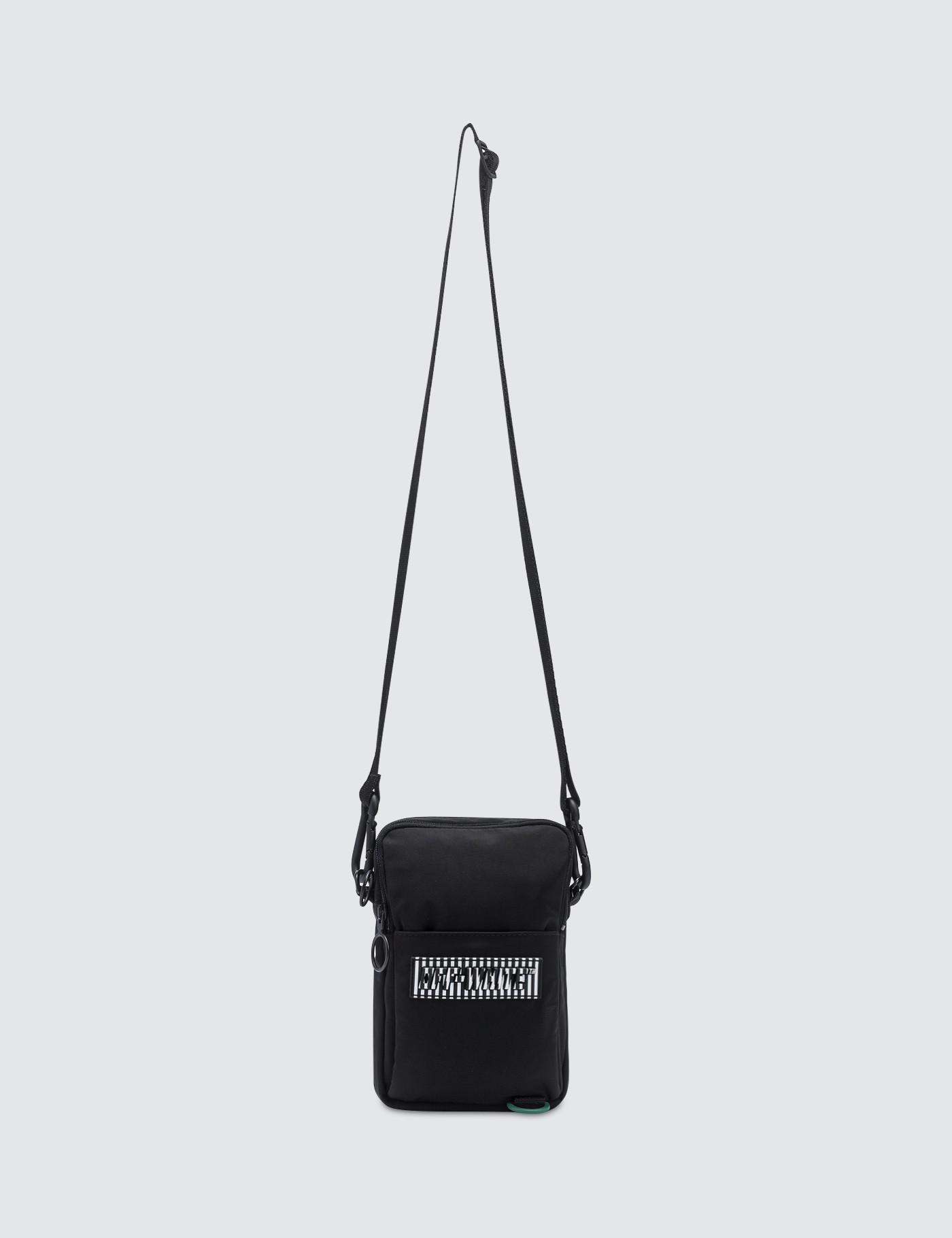 757666a919cd Lyst - Off-White c o Virgil Abloh Patch Hip Bag in Black for Men