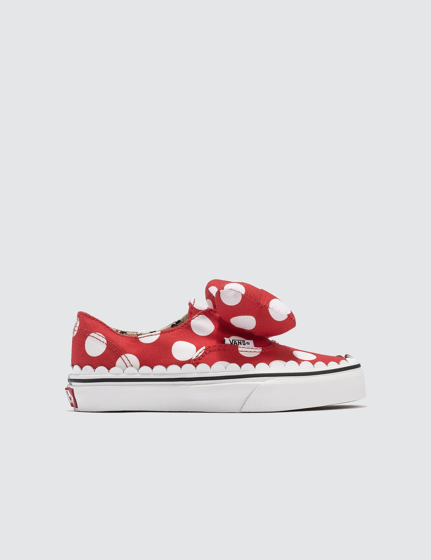 64193a130fe173 Lyst - Vans Disney X Authentic Gore Kids in Red