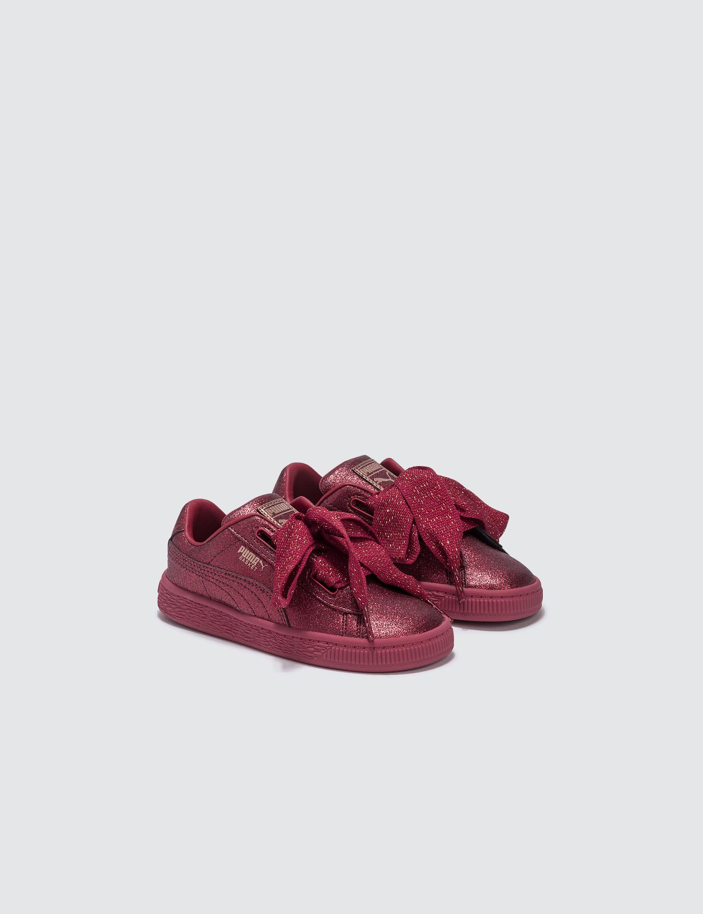 PUMA - Red Basket Heart Holiday Glamour Infant - Lyst. View fullscreen 99f29be1f