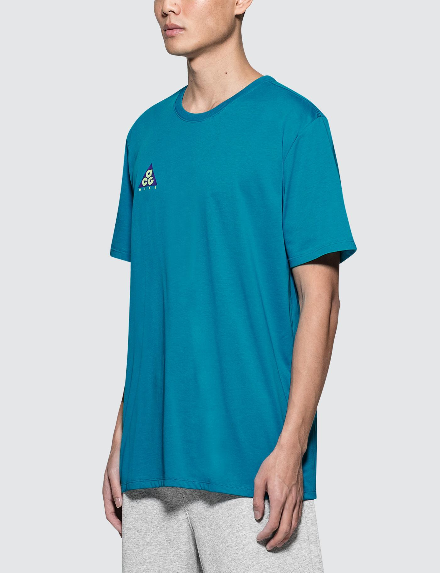 competitive price 471c3 c6baf Lyst - Nike M Nsw T-shirt Cltr Acg 2 in Blue for Men