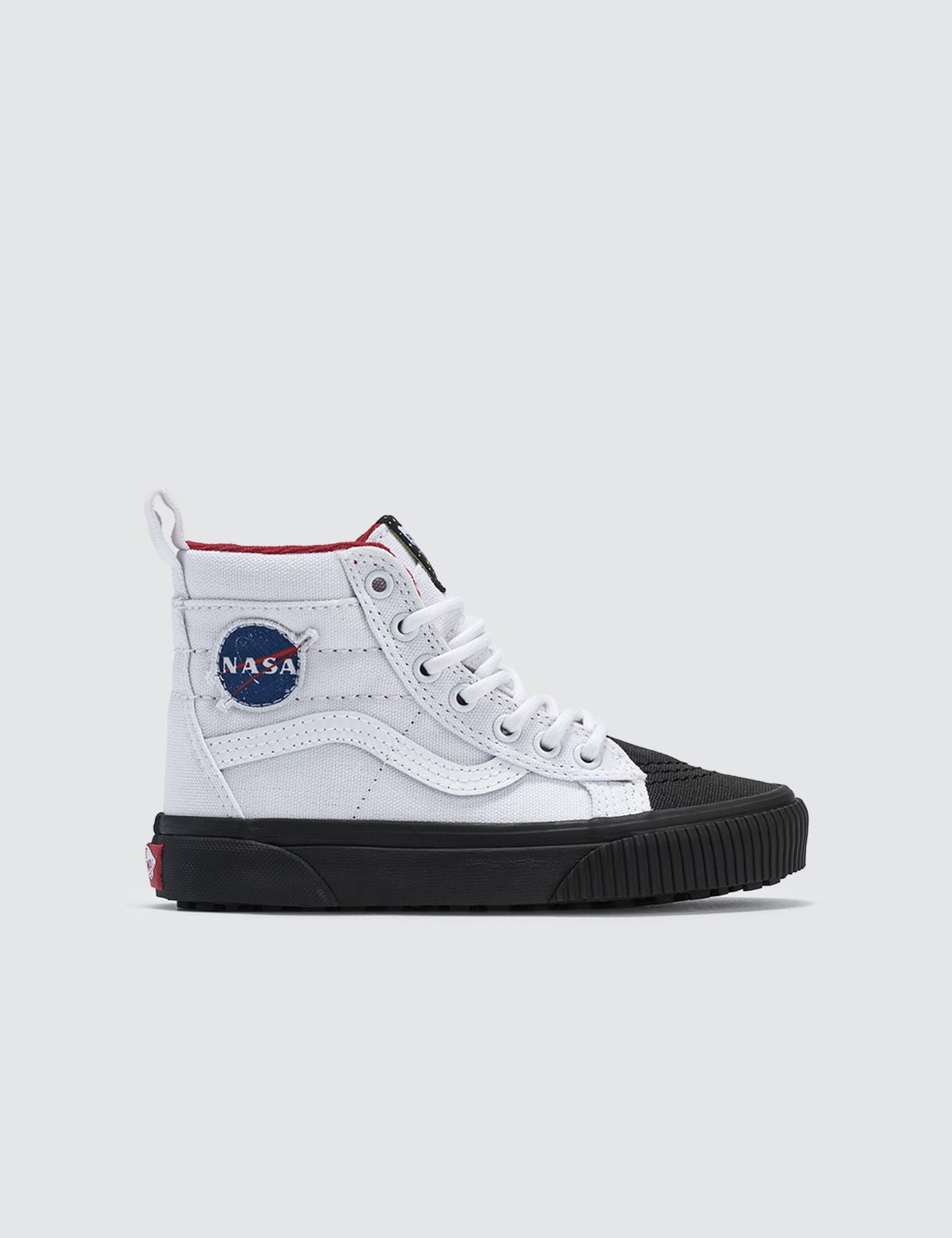 3051d976a39f6f Lyst - Vans Space Voyager Sk8-hi Mte Kids in White