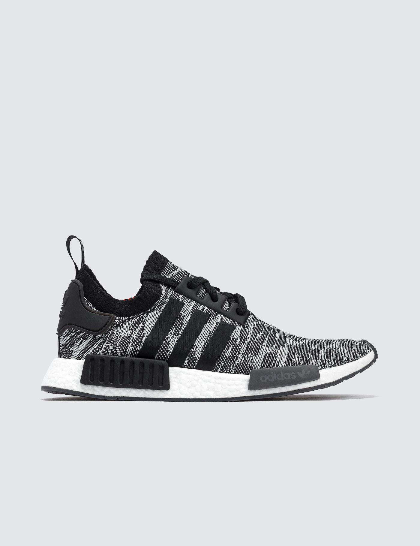 adidas Originals. Men's Black Nmd R1 Runner Primeknit