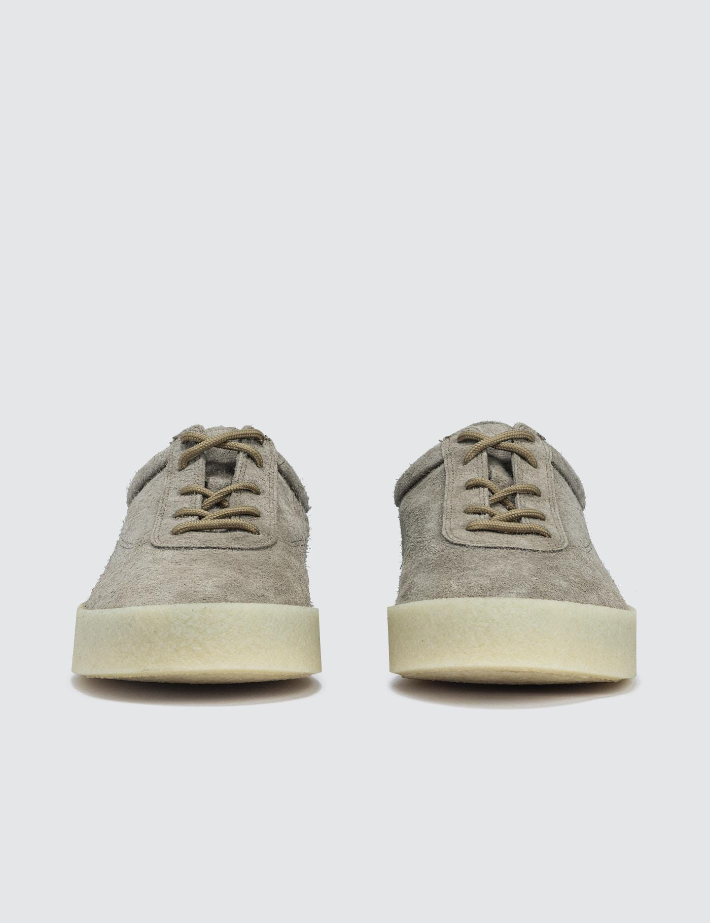 b4e349ae6fee9 Yeezy Women s Crepe Sneaker In Thick Shaggy Suede - Lyst