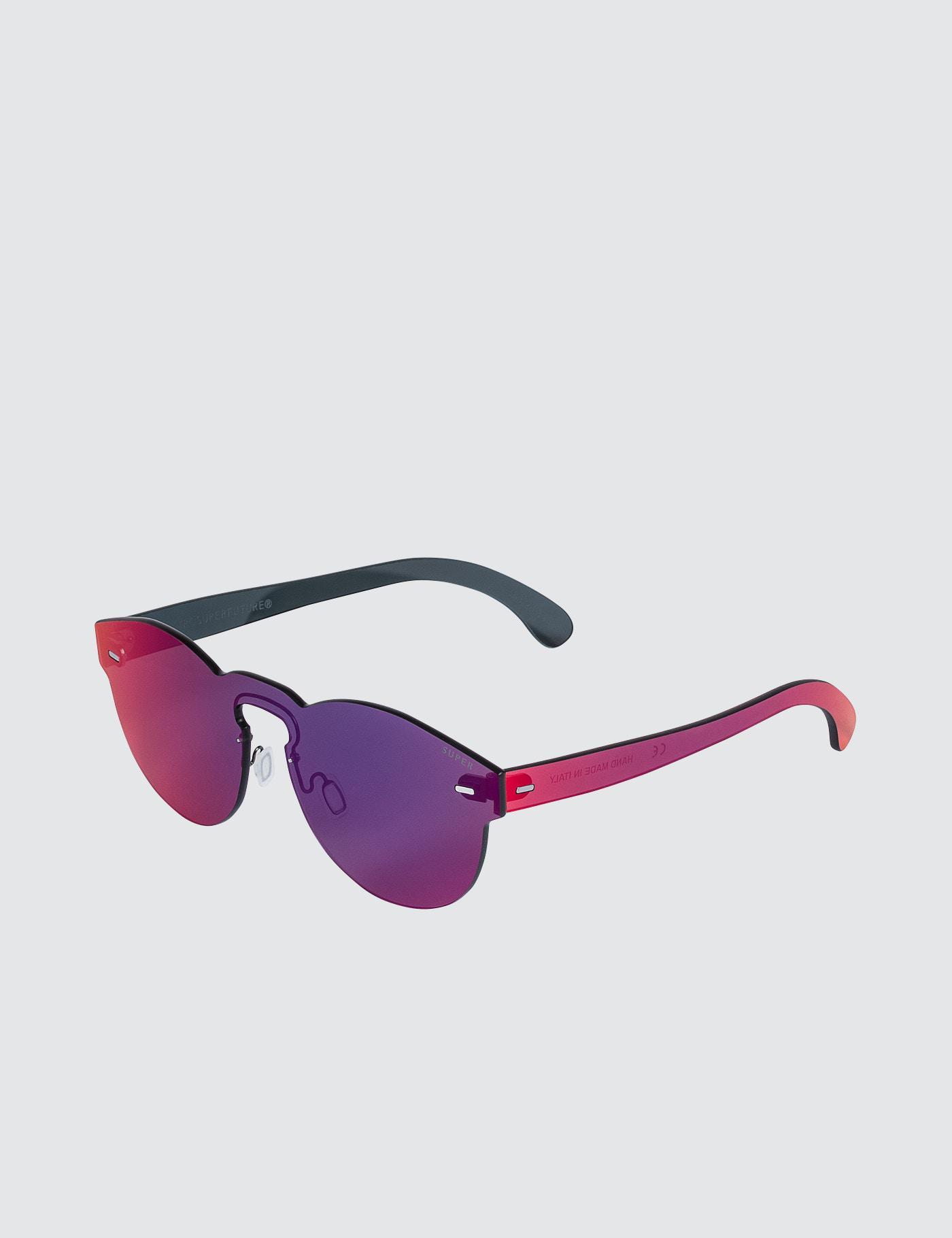 Tuttolente Paloma Infrared round sunglasses - Multicolour Retro Superfuture qrxou