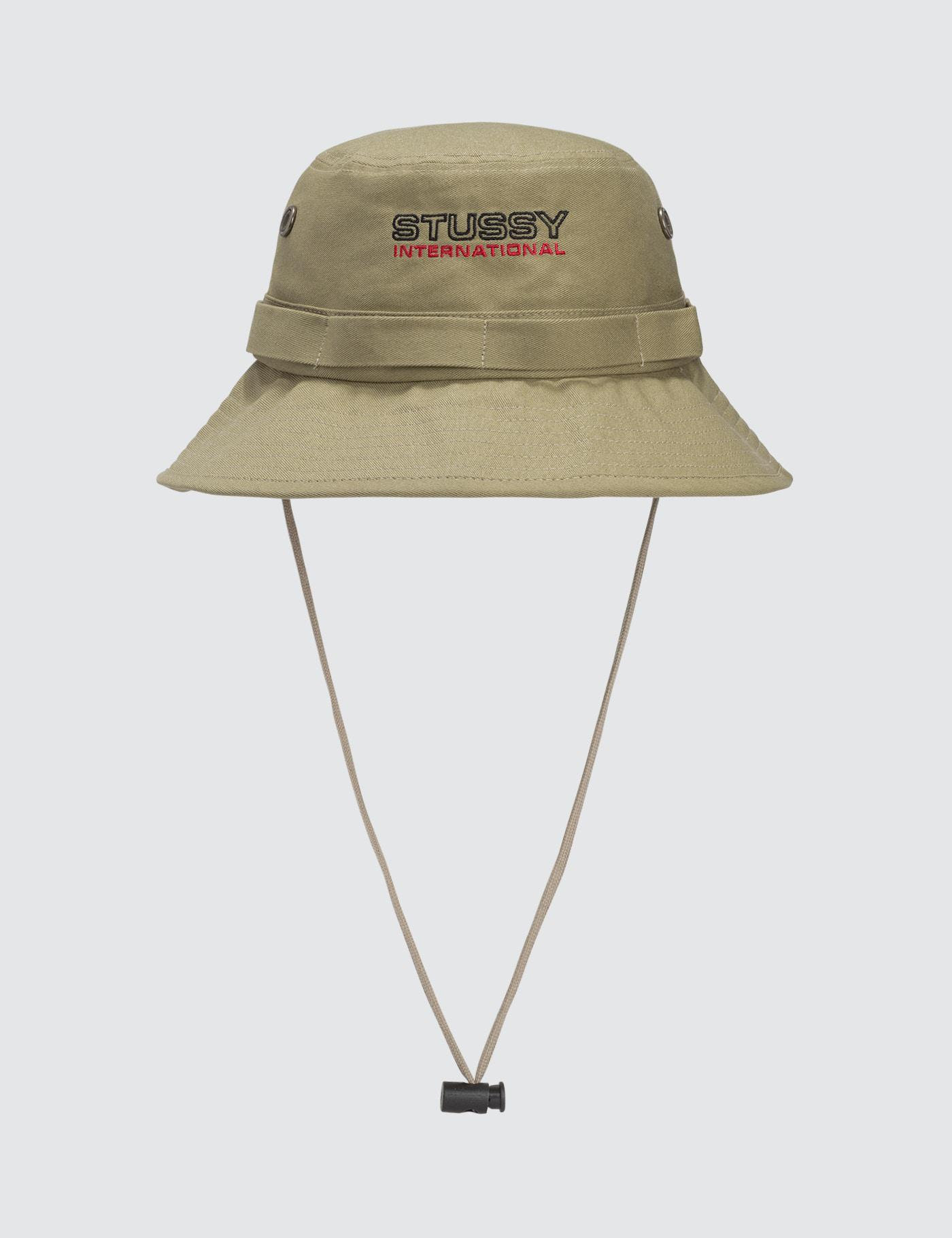 8e77196fc67 Lyst - Stussy Fisherman Hat in Natural