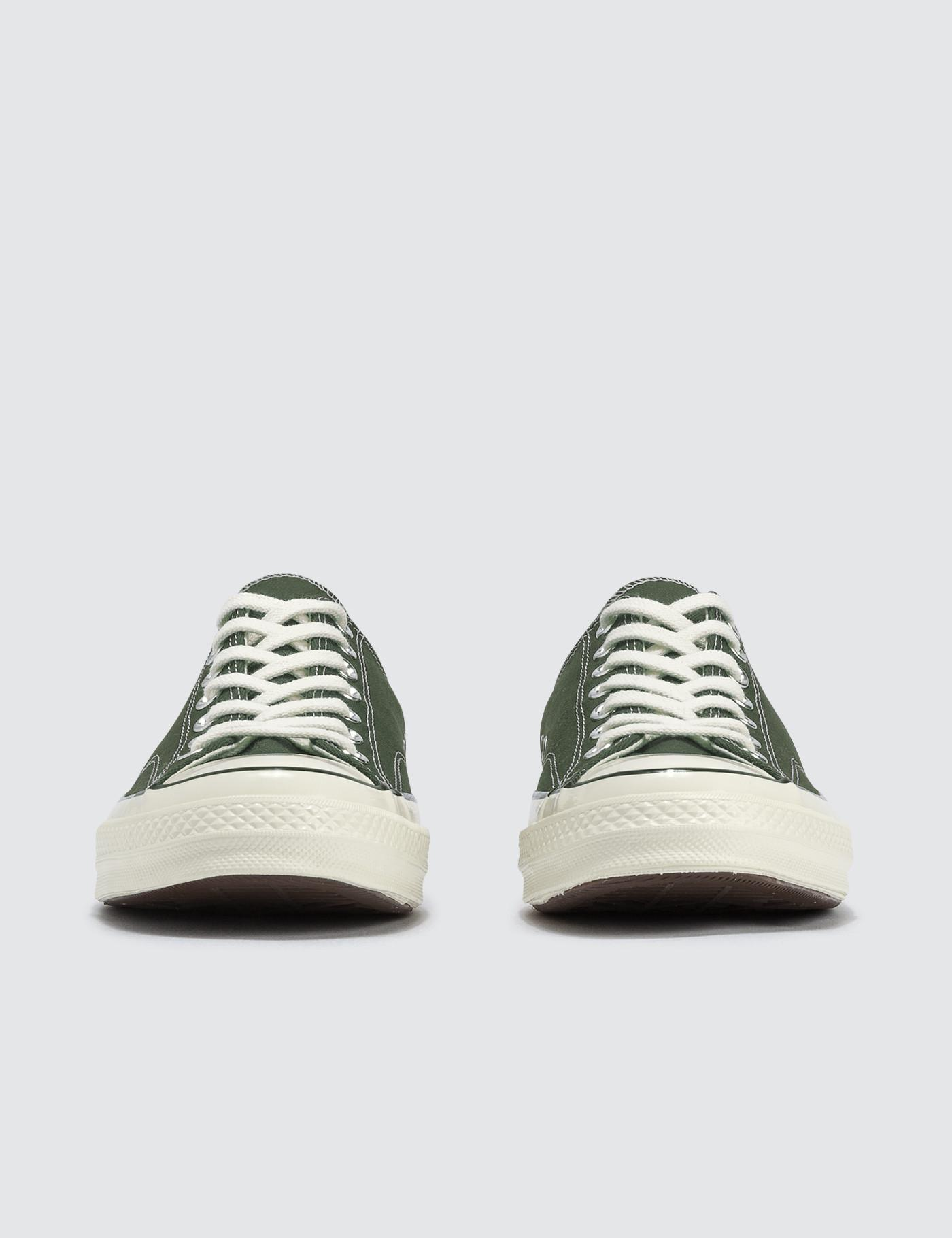 Converse Chuck 70 Ox in Green for Men - Lyst 3a7488a07