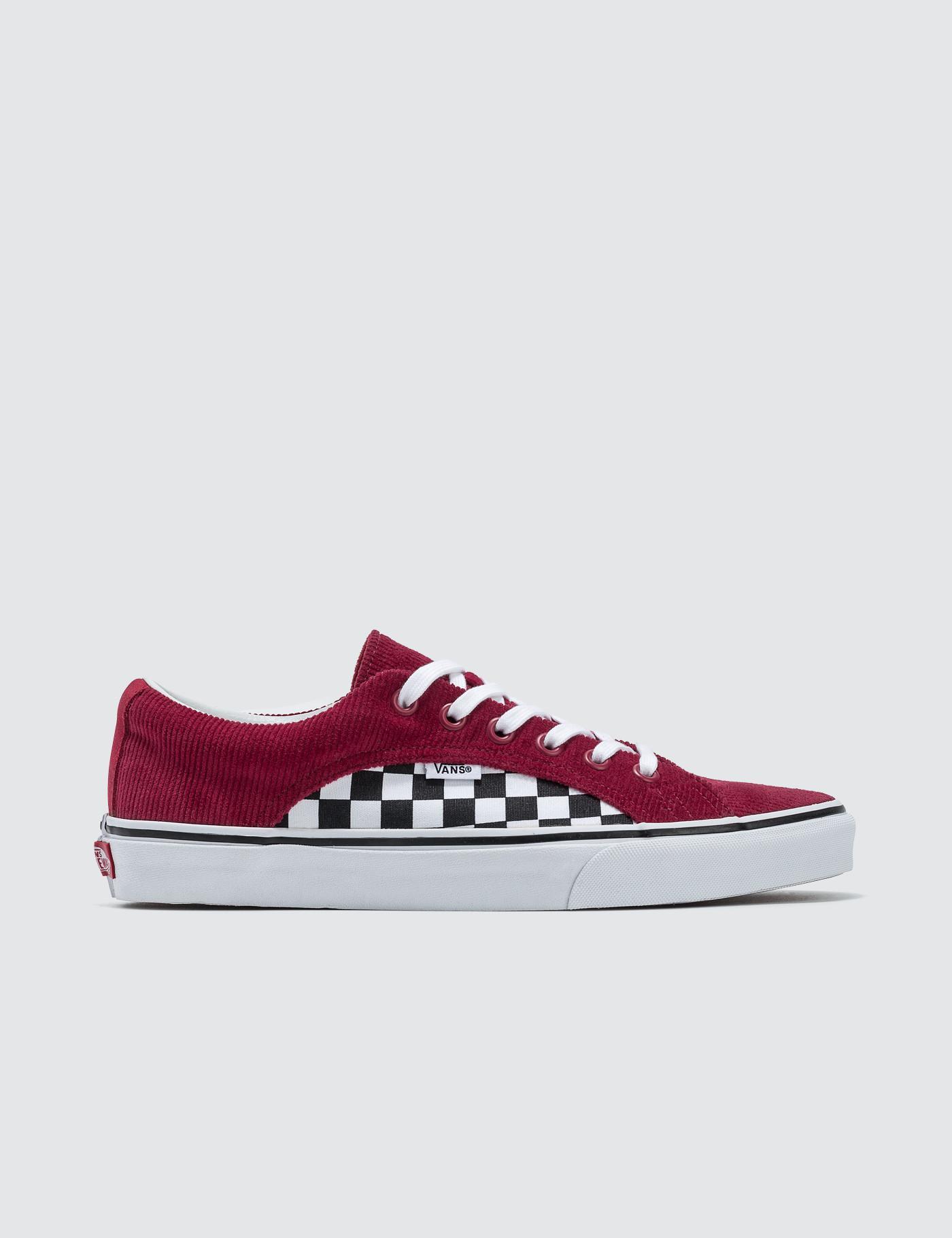 913c7e97f1ff2d Lyst - Vans Lampin in Red for Men