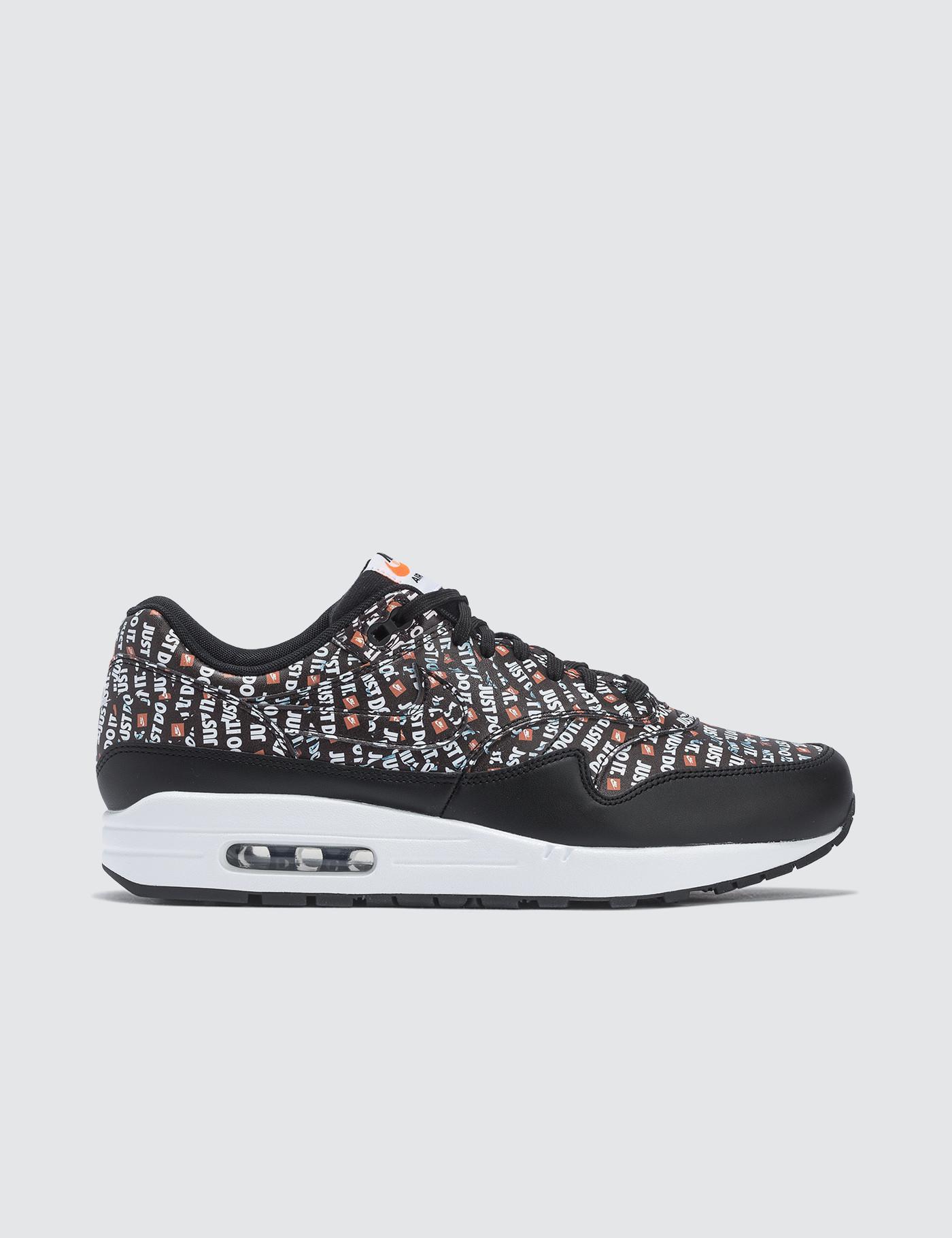 Lyst - Nike Air Max 1 Premium in Black for Men c357910ef
