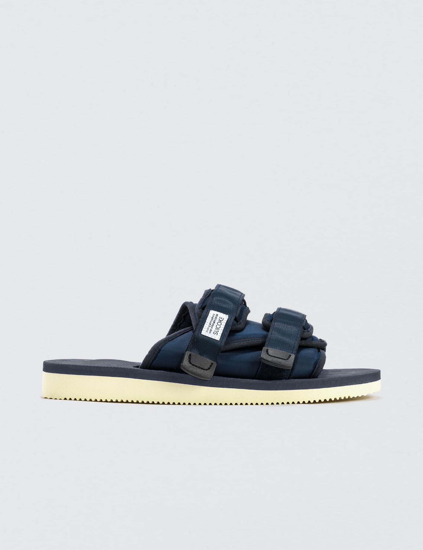 85aa063f68a Lyst - Suicoke Moto-cab Sandals in Blue - Save 8%
