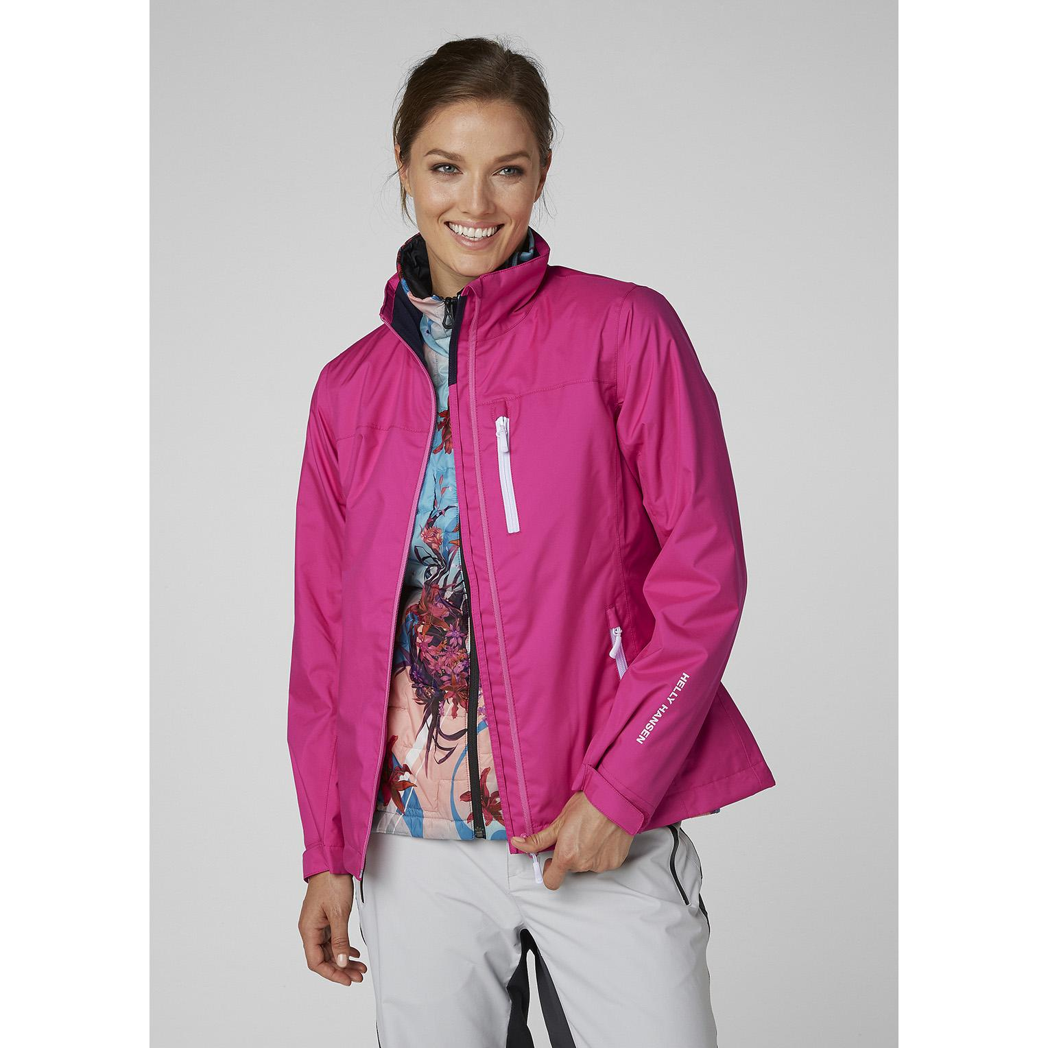 046bc85e7 Lyst - Helly Hansen W Crew Midlayer Jacket in Pink