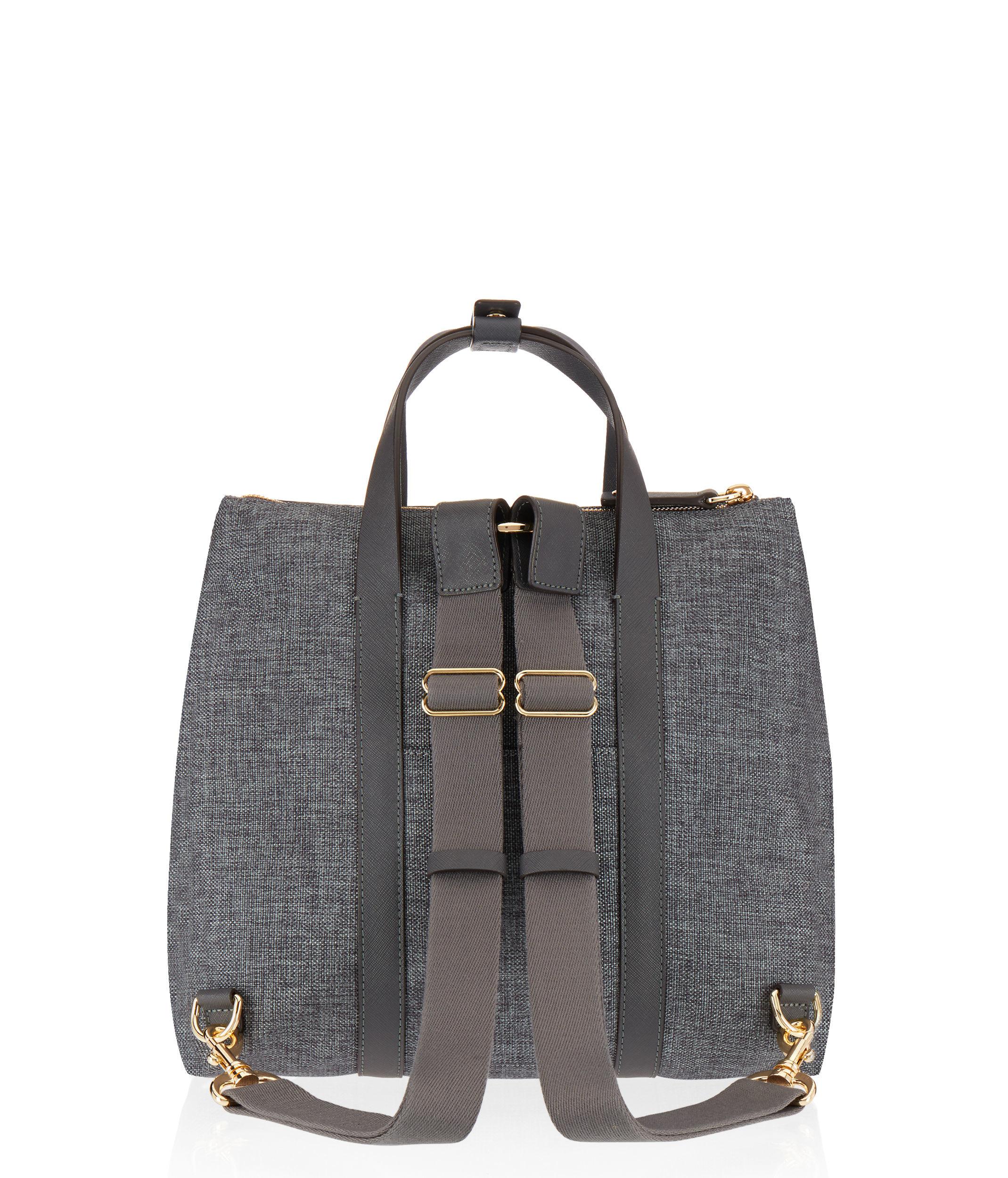 e8d61a838 Lyst - Henri Bendel Jetsetter Mini Canvas Backpack
