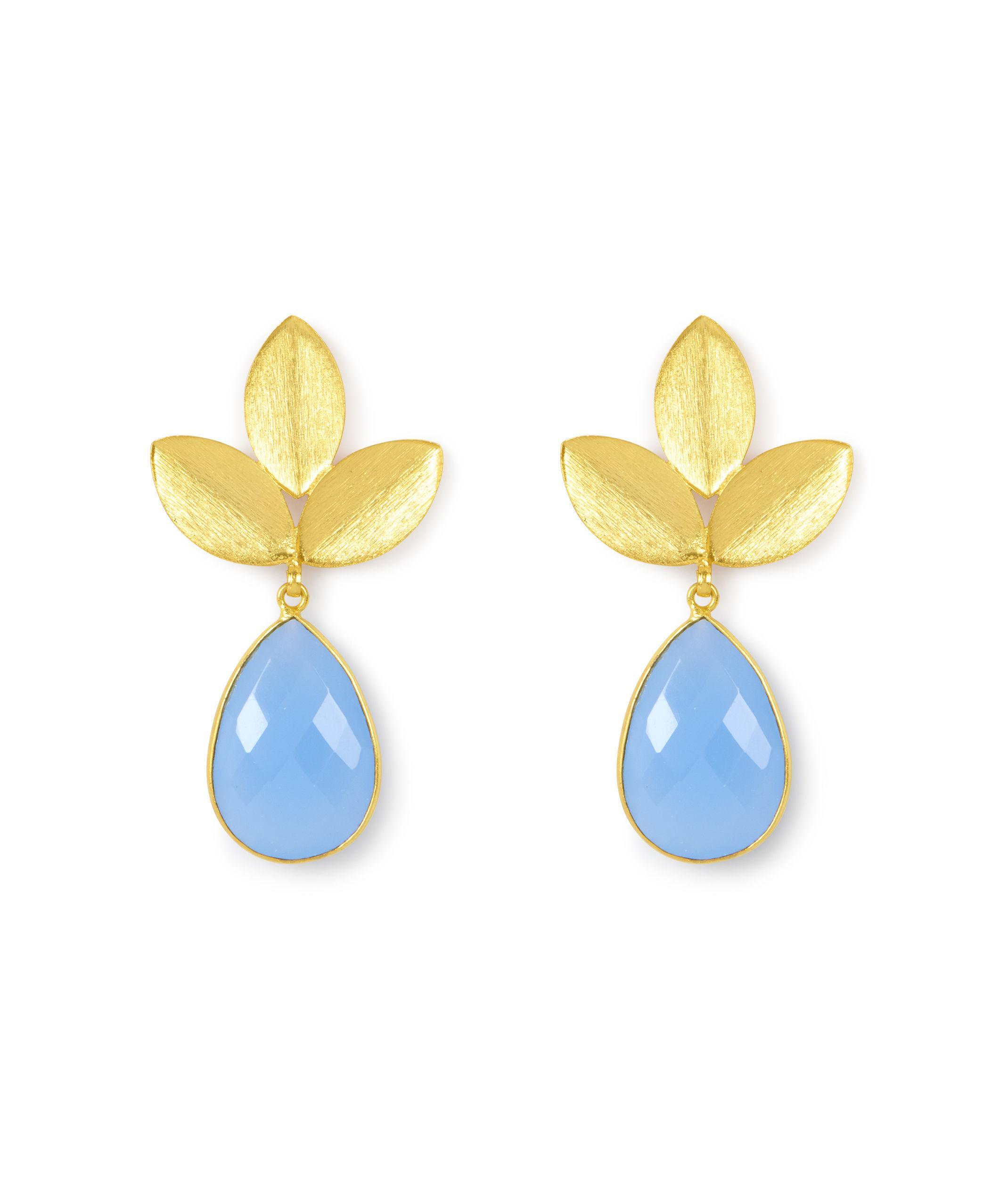 Henri Bendel Elle Gemz Turquoise Teardrop Hoop Earring xR1r7bqD