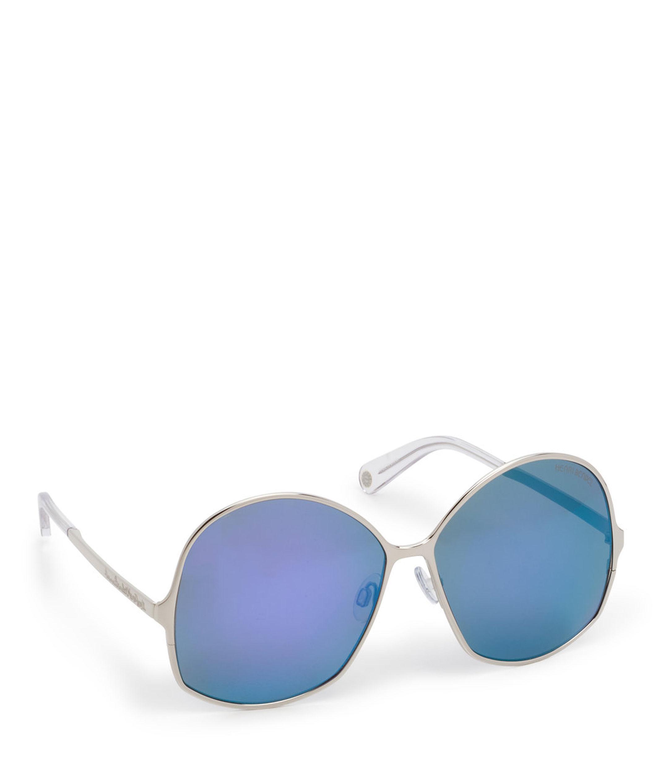 a117a70c39 Lyst - Henri Bendel Joan Square Sunglasses in Purple