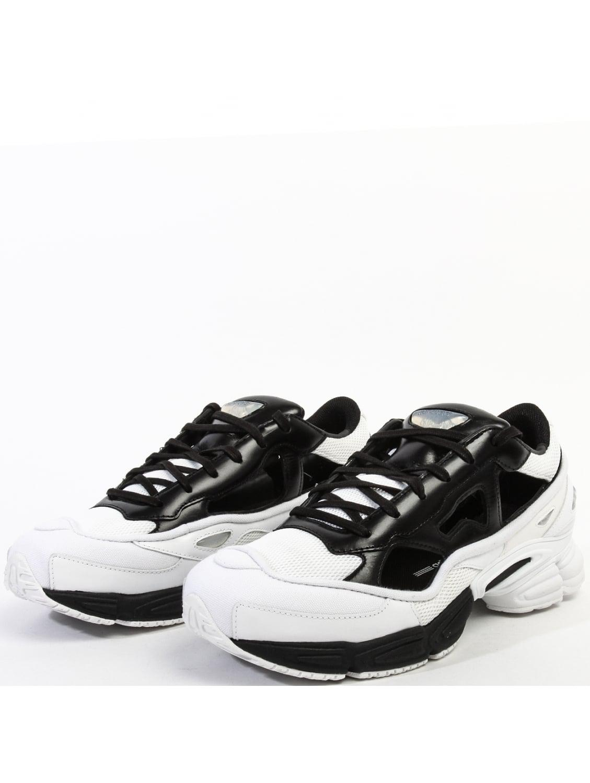 size 40 0bc68 5218f adidas x Raf Simons Replicant Ozweego Core Black Crystal White Ftw White