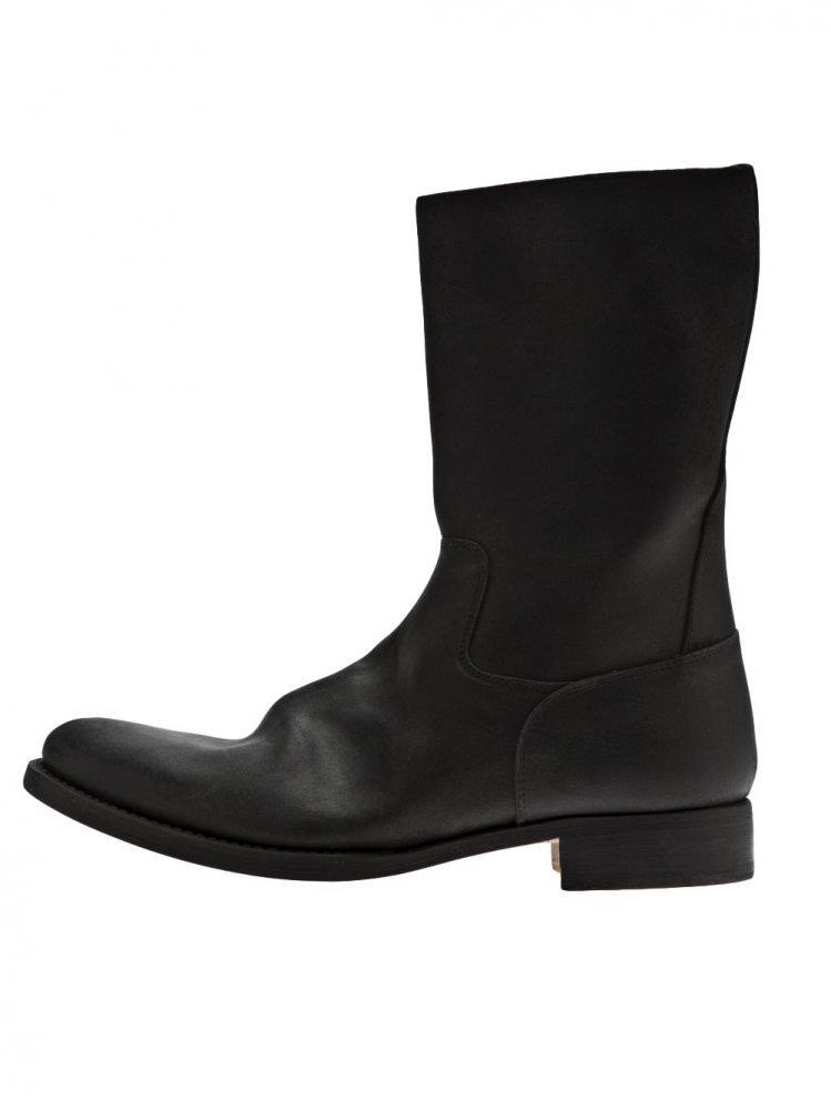Lyst Sak Calf Leather Side Zip Boot