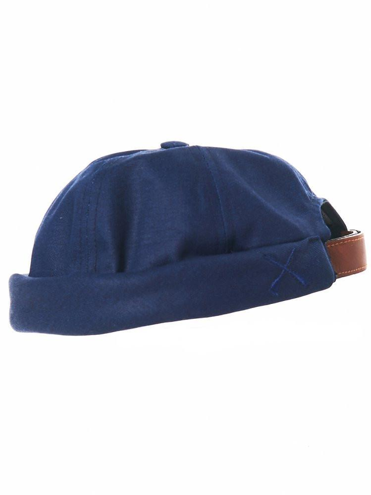 Lyst - Beton Cire Cotton Brimless Cap in Blue for Men 42d37aa91ec