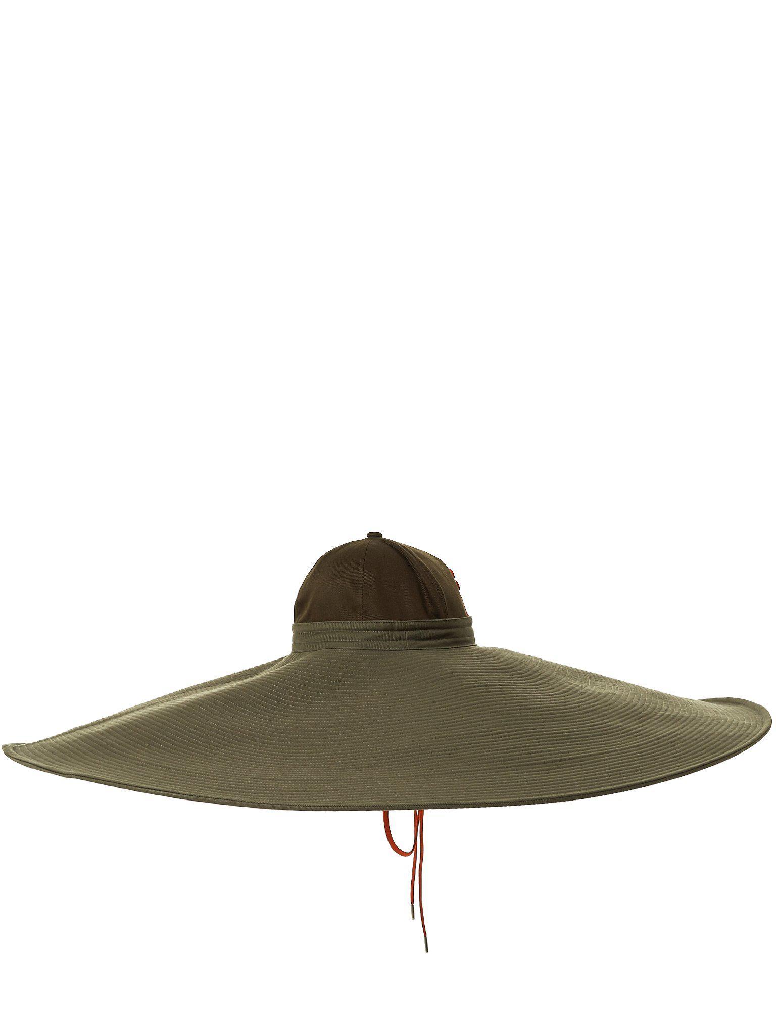 e9ad23a3 Ambush Oversized Assemblage Hat in Green - Lyst