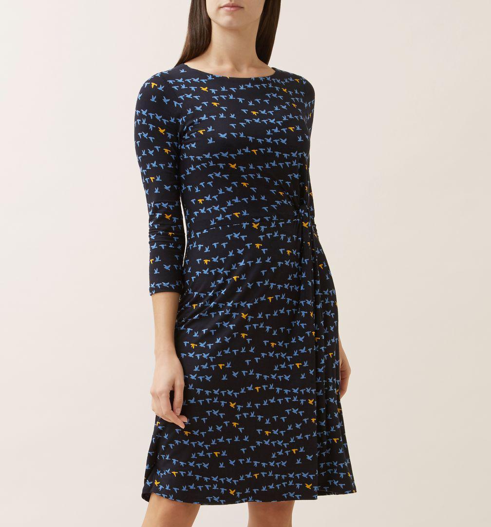 c5ff338343e Hobbs - Blue Skye Dress - Lyst. View fullscreen