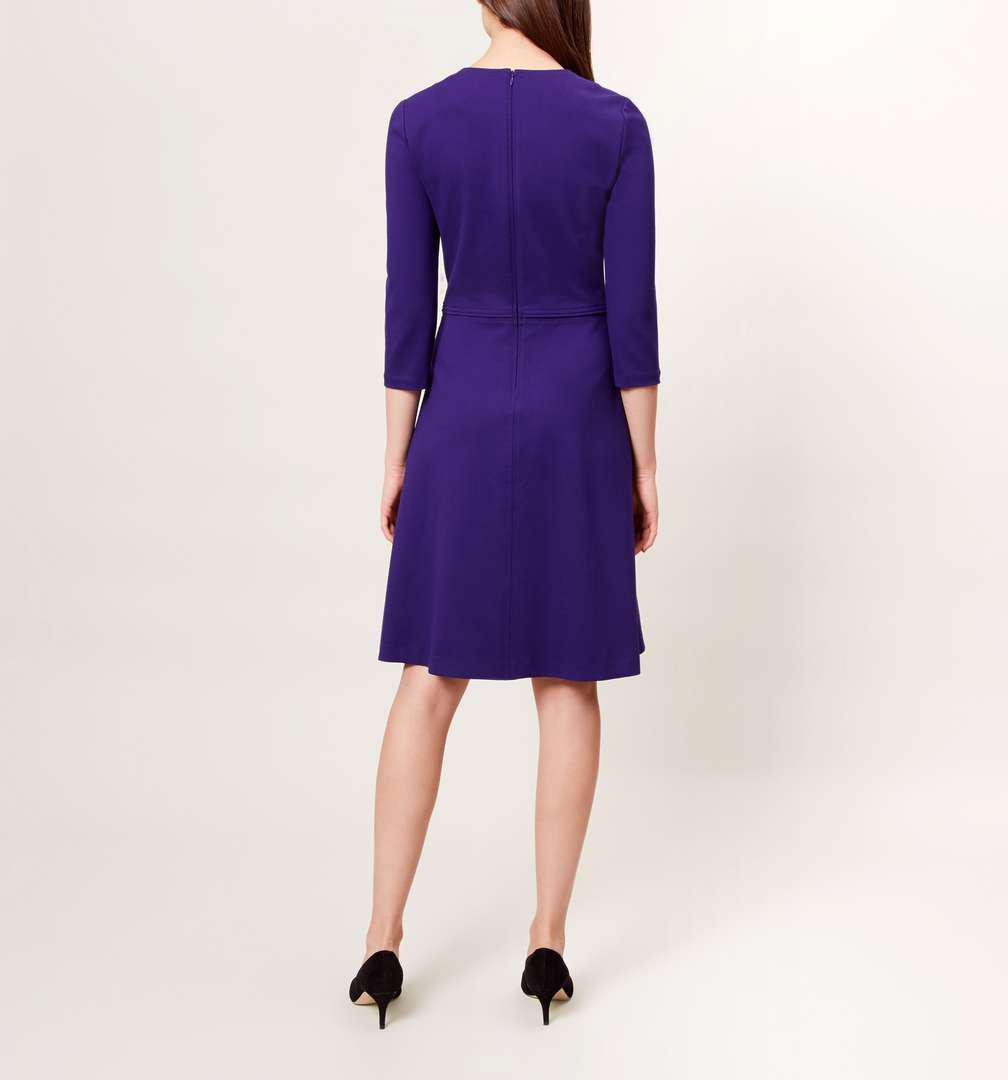 Lyst - Hobbs Anais Dress in Purple
