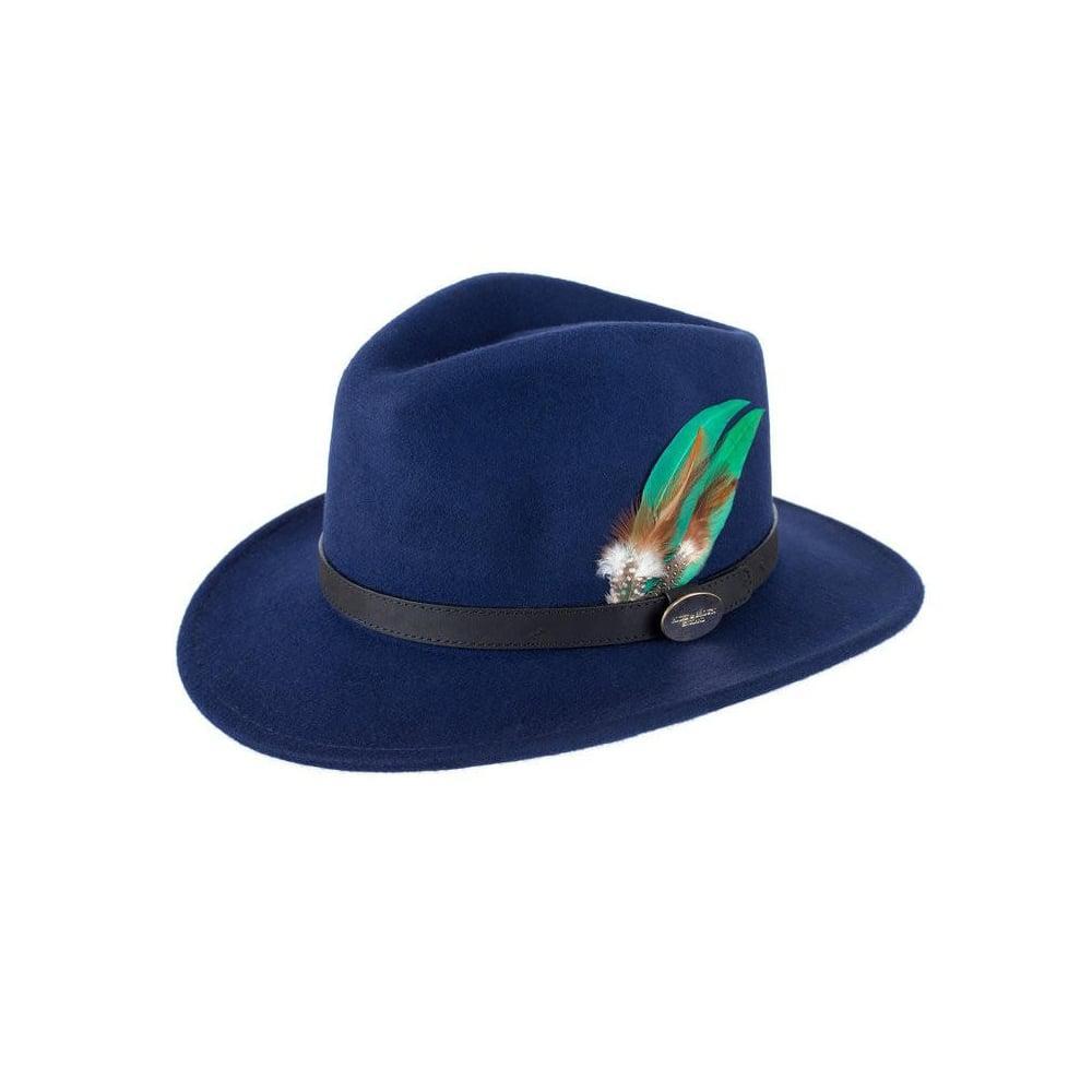 013d07bda6f Hicks   Brown Suffolk Fedora Hat in Brown - Lyst