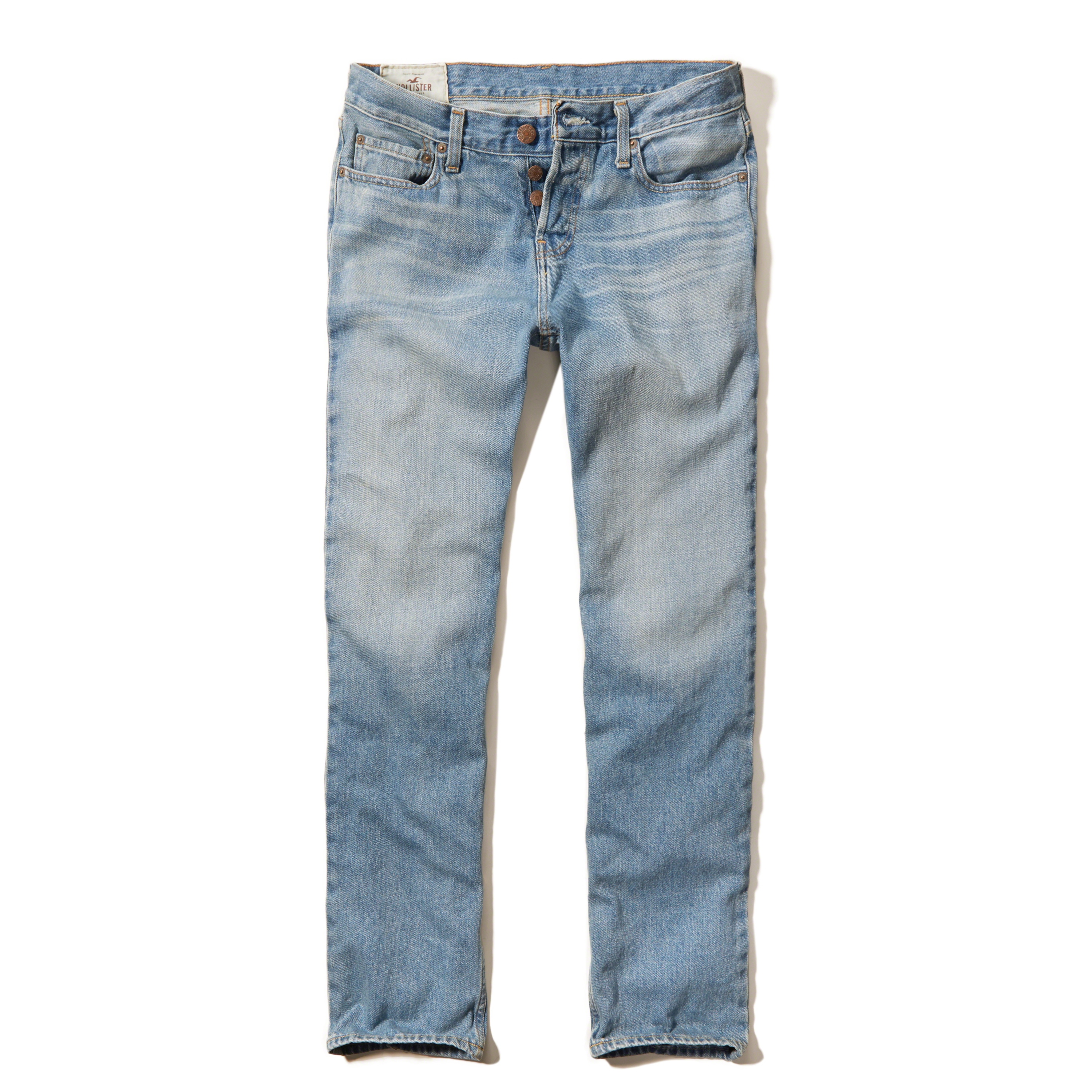 Hollister Classic Straight Jeans in Blue for Men   Lyst