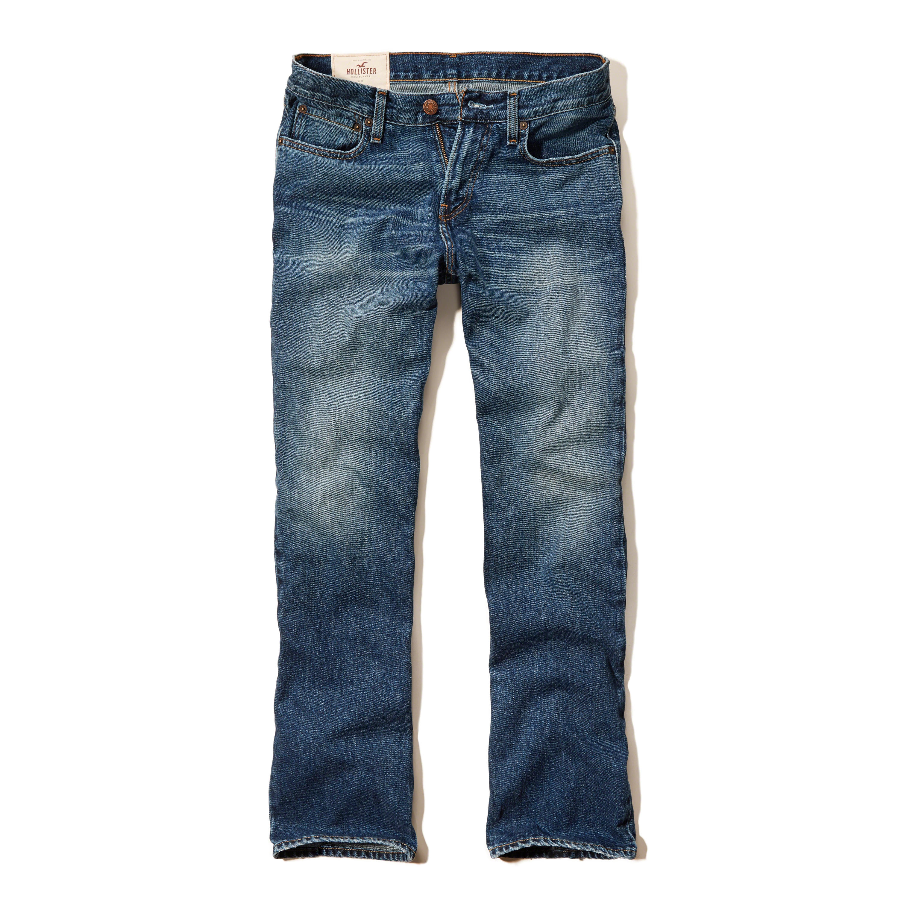 Hollister Boot Jeans in Blue for Men | Lyst