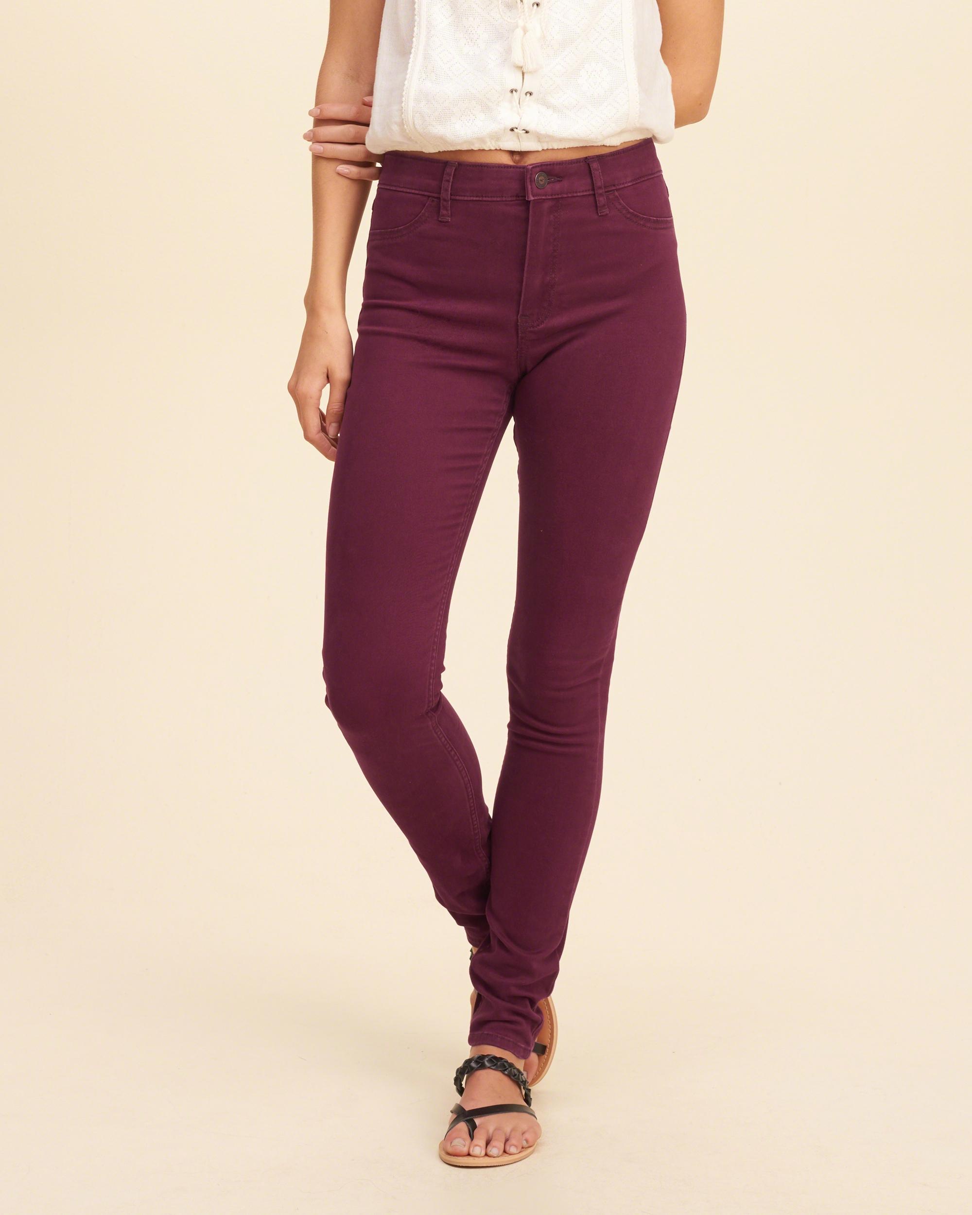 hollister school pants - photo #23