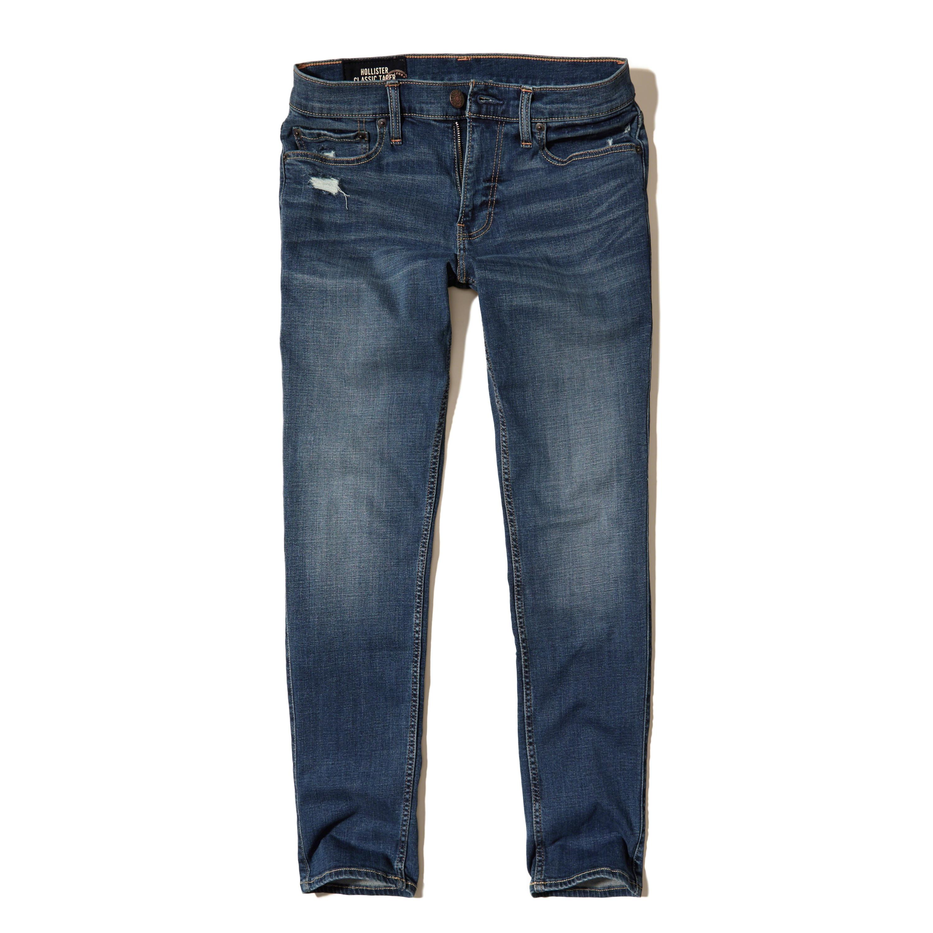 Lyst - Hollister Classic Taper Jeans for Men