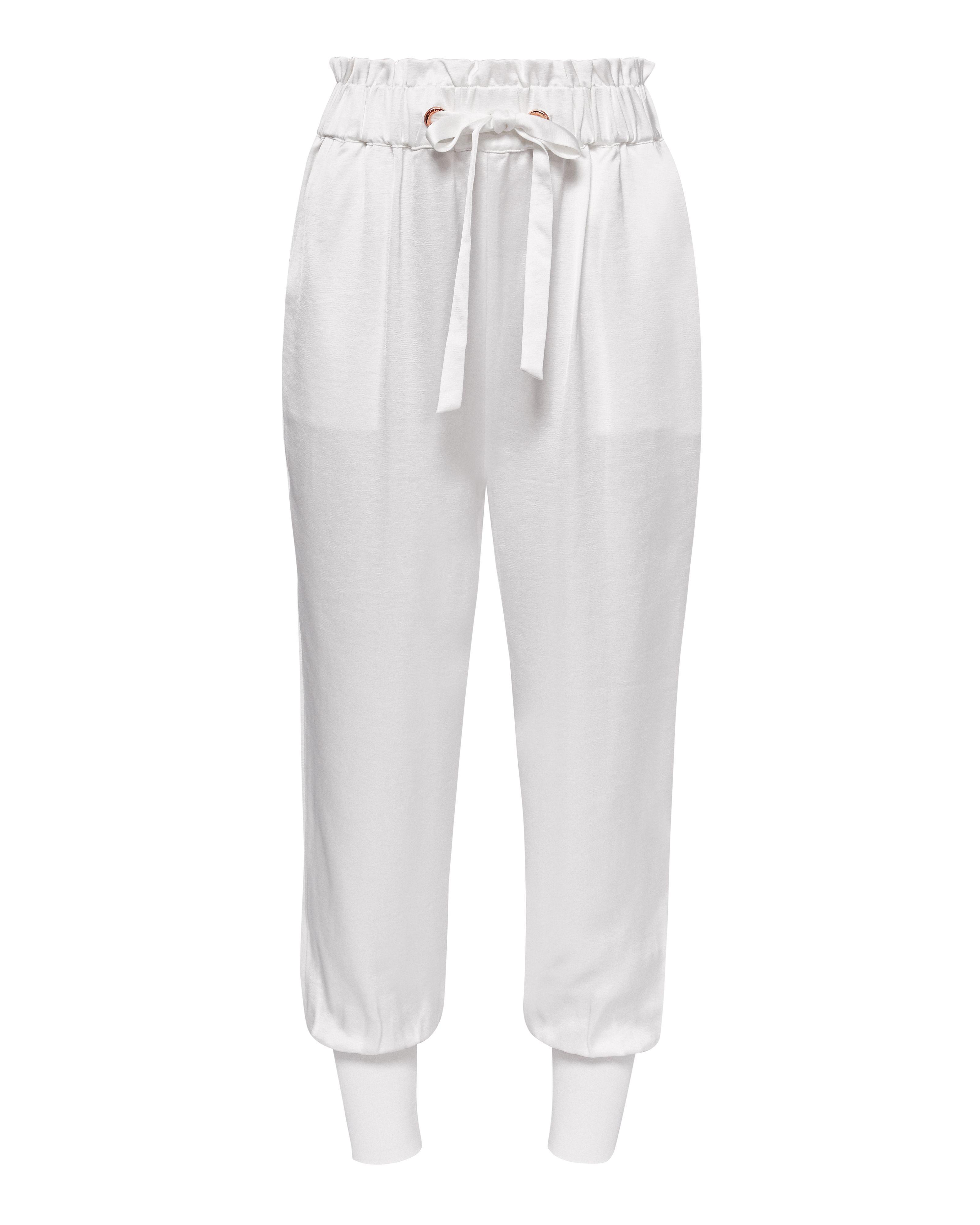 Paper Bag High Waist Trousers Ted Baker Perfect Sale Cheap Sale Geniue Stockist USwTquBb