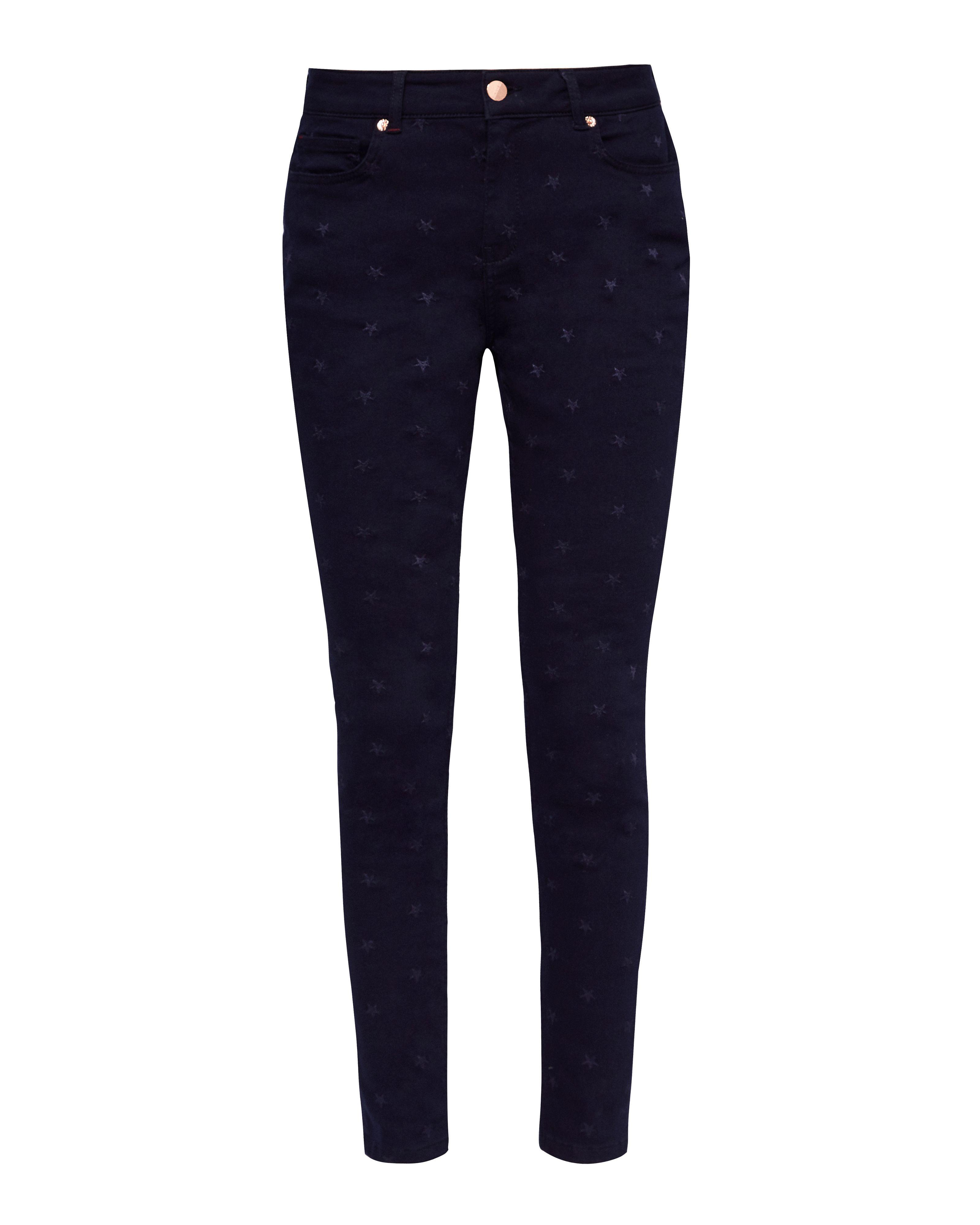 Embroidered Star Skinny Jeans Ted Baker x7kiYpo0