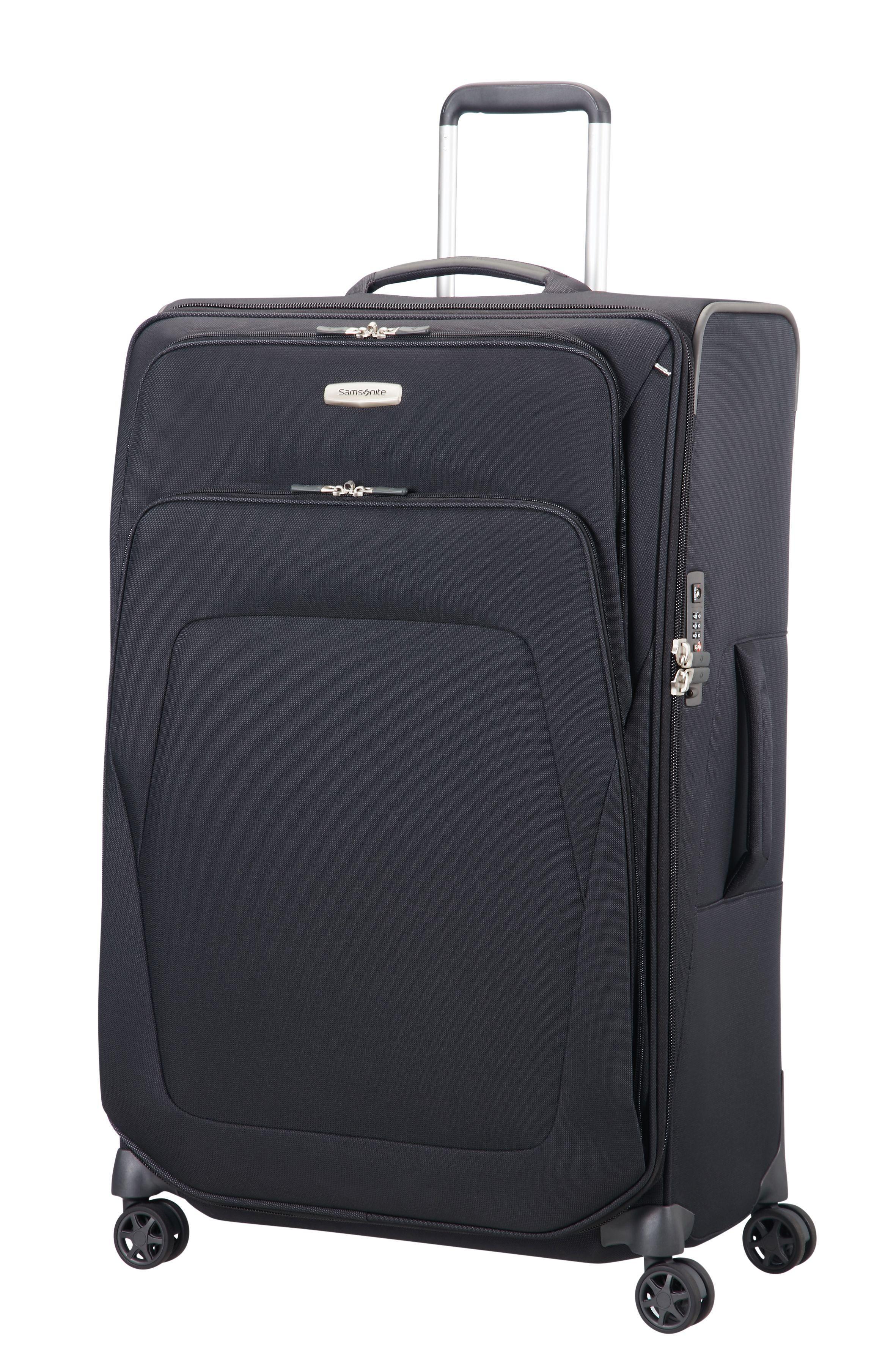 Samsonite Spark Sng Black 4 Wheel 79cm Large Suitcase In Black For Men