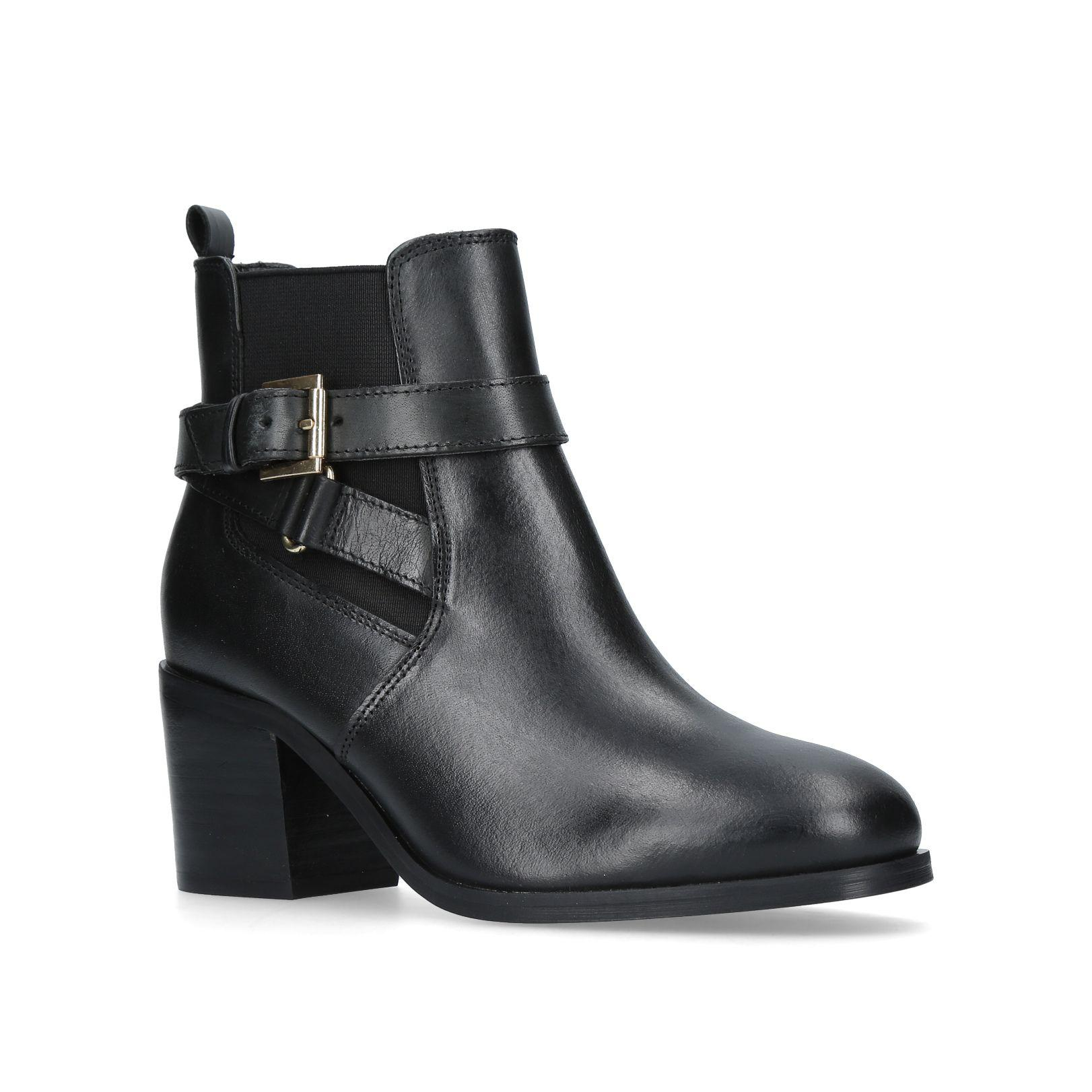 261a1c683bf821 Michael Kors Nancy Mid Pump Court Shoes in Black - Lyst