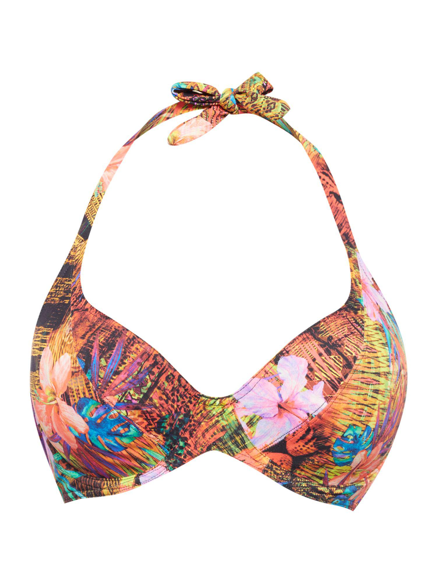 422d46d5ccc1d3 Freya Safari Beach Underwired Halter Bikini Top - Lyst