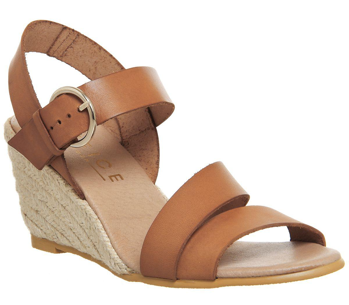 Office Women S Brown Mangoes Espadrille Wedges