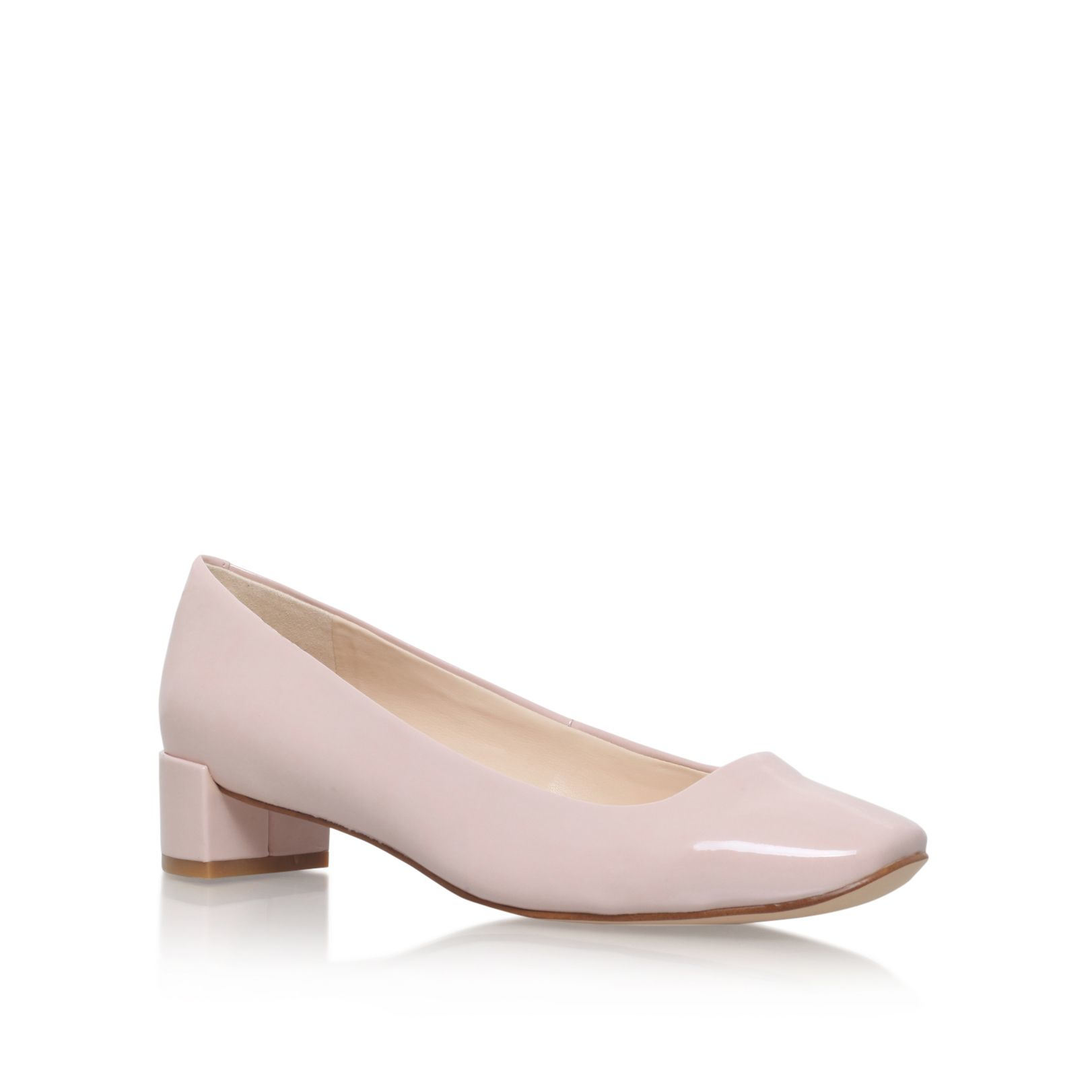 nine west olencia3 low heel court shoes in pink lyst