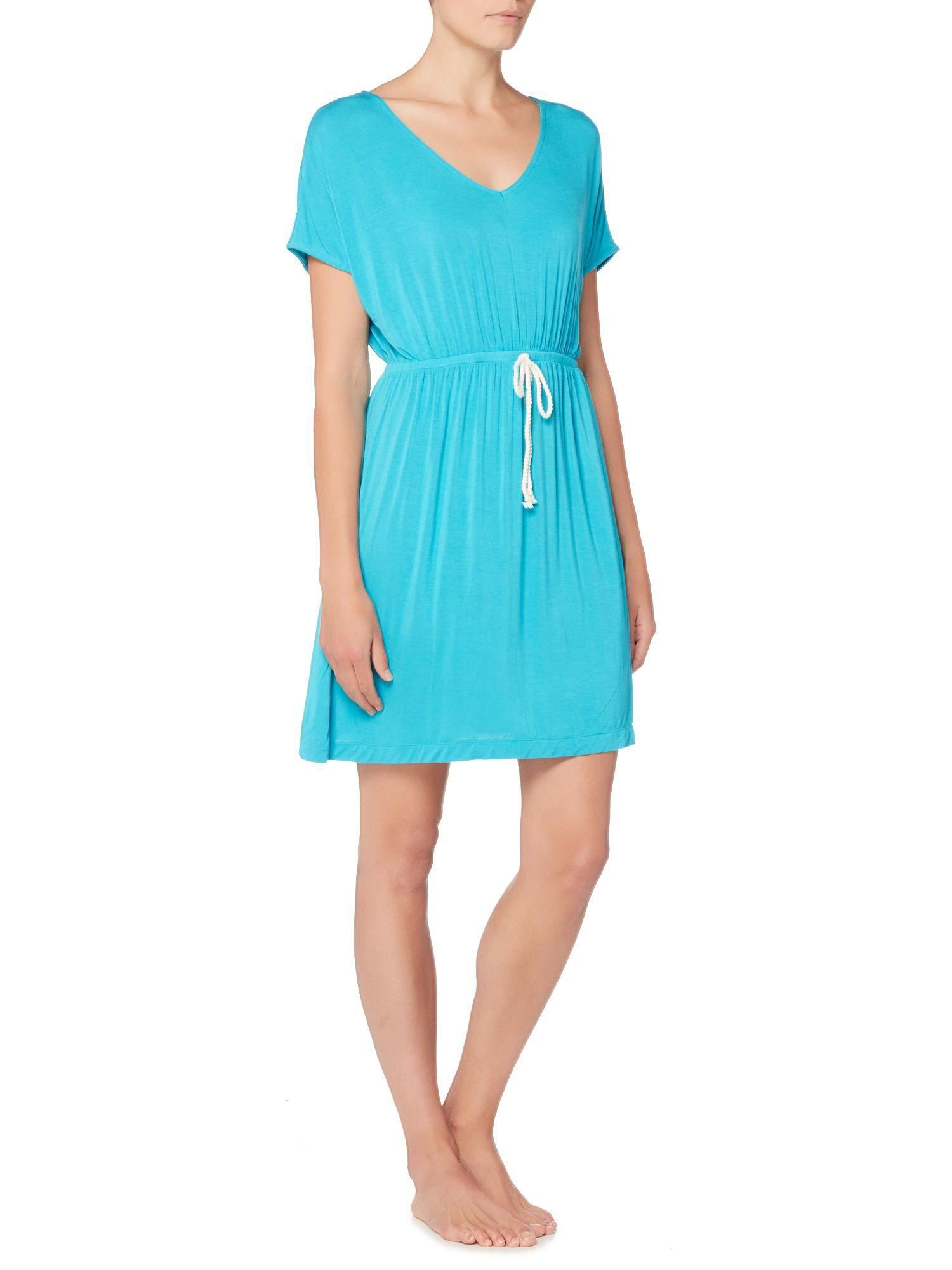 Lyst Dickins Amp Jones Jersey Beach Cover Up In Blue
