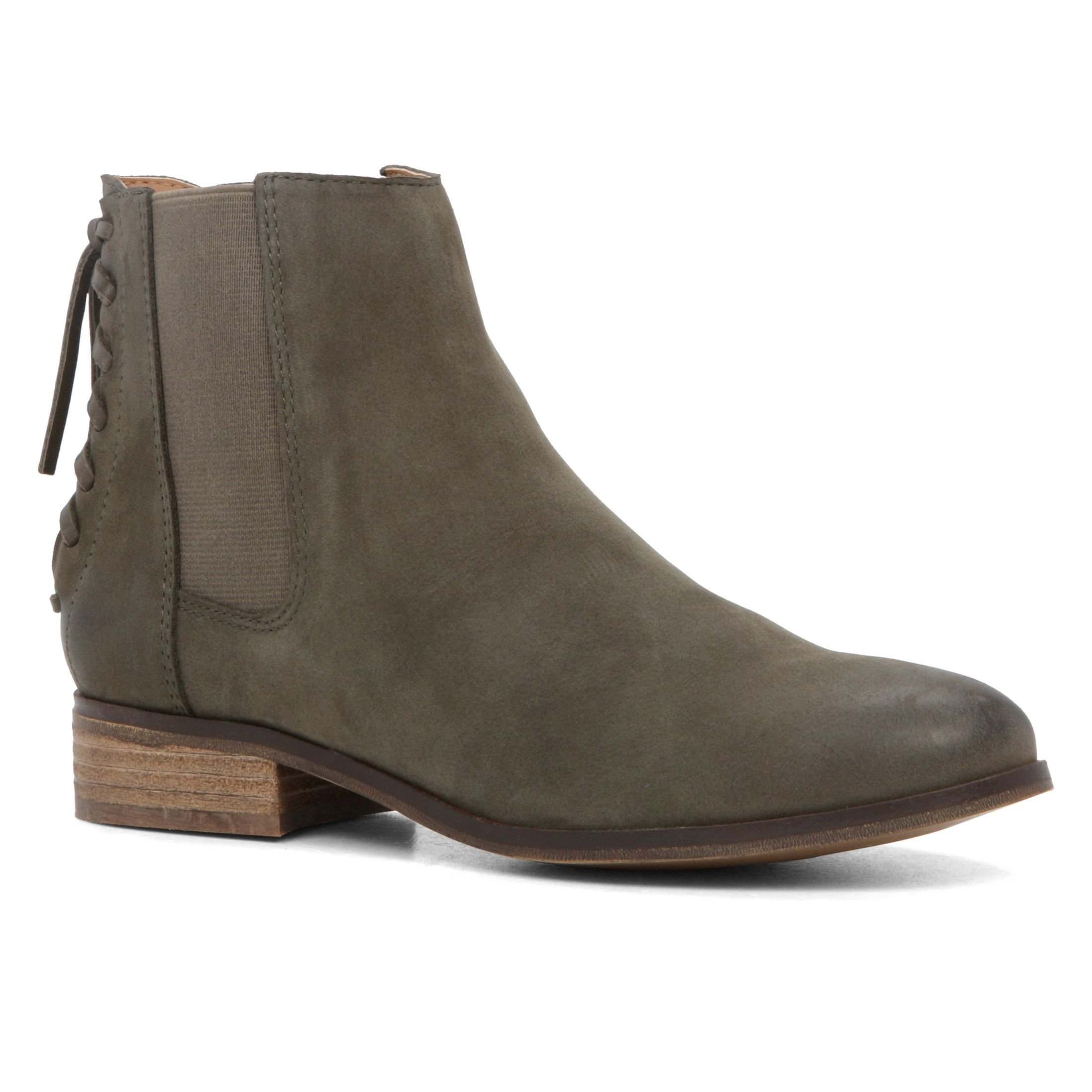 aldo boudinot flat ankle boots lyst