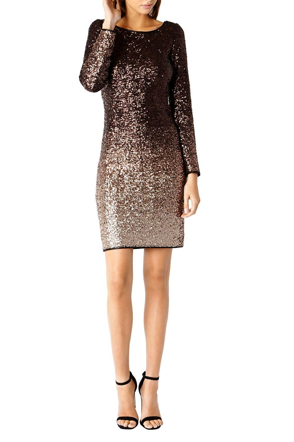 Coast Demi Ombre Sequin Dress Lyst