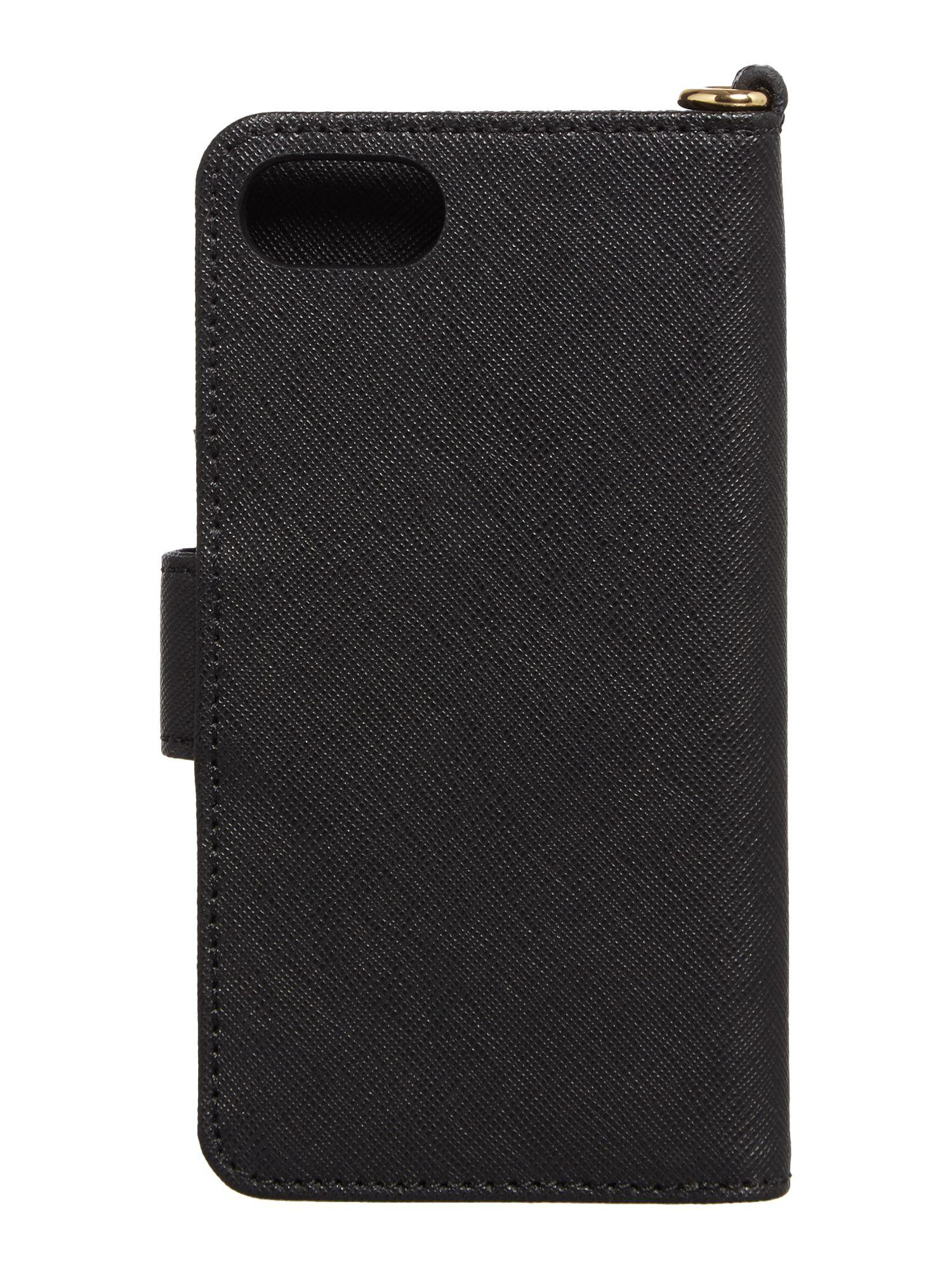 michael kors black iphone 7 phone cover in red lyst. Black Bedroom Furniture Sets. Home Design Ideas