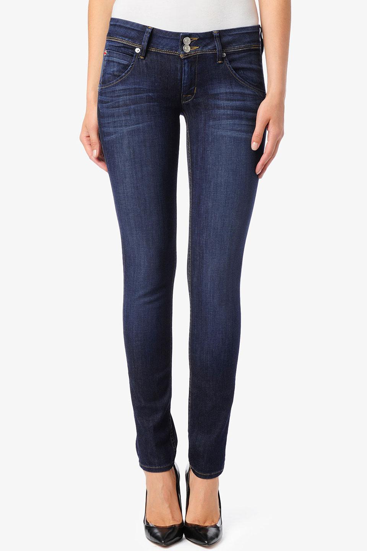 Hudson jeans Collin Skinny in Blue