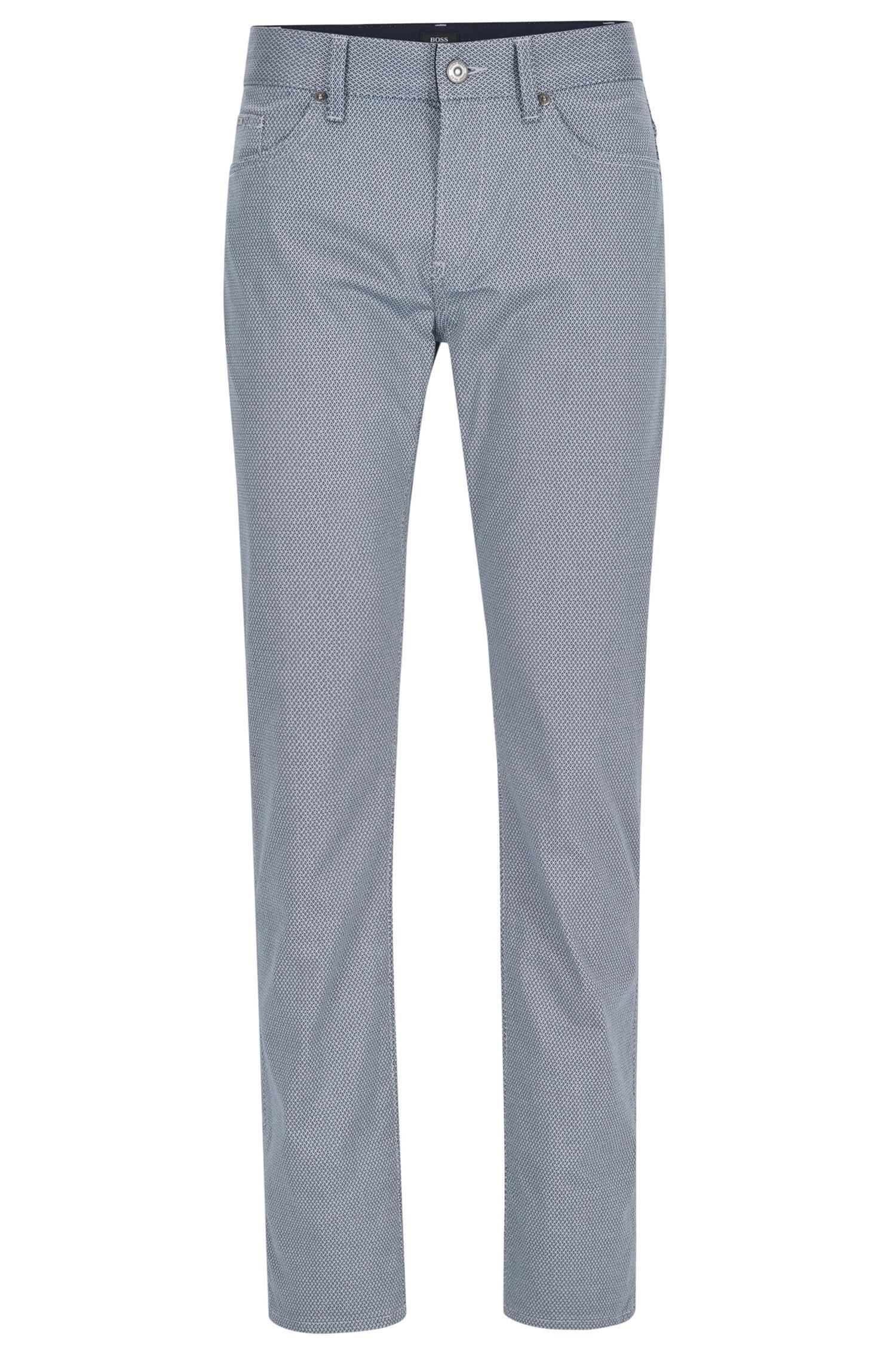 Jeans Regular Fit En Patron Coton Stretch Chiné kr3LoRjpmW