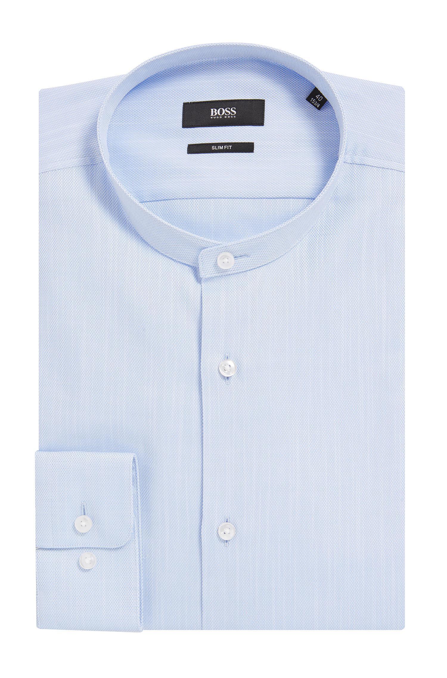 177be5519 BOSS Cotton Dress Shirt, Slim Fit   Jordi in Blue for Men - Lyst
