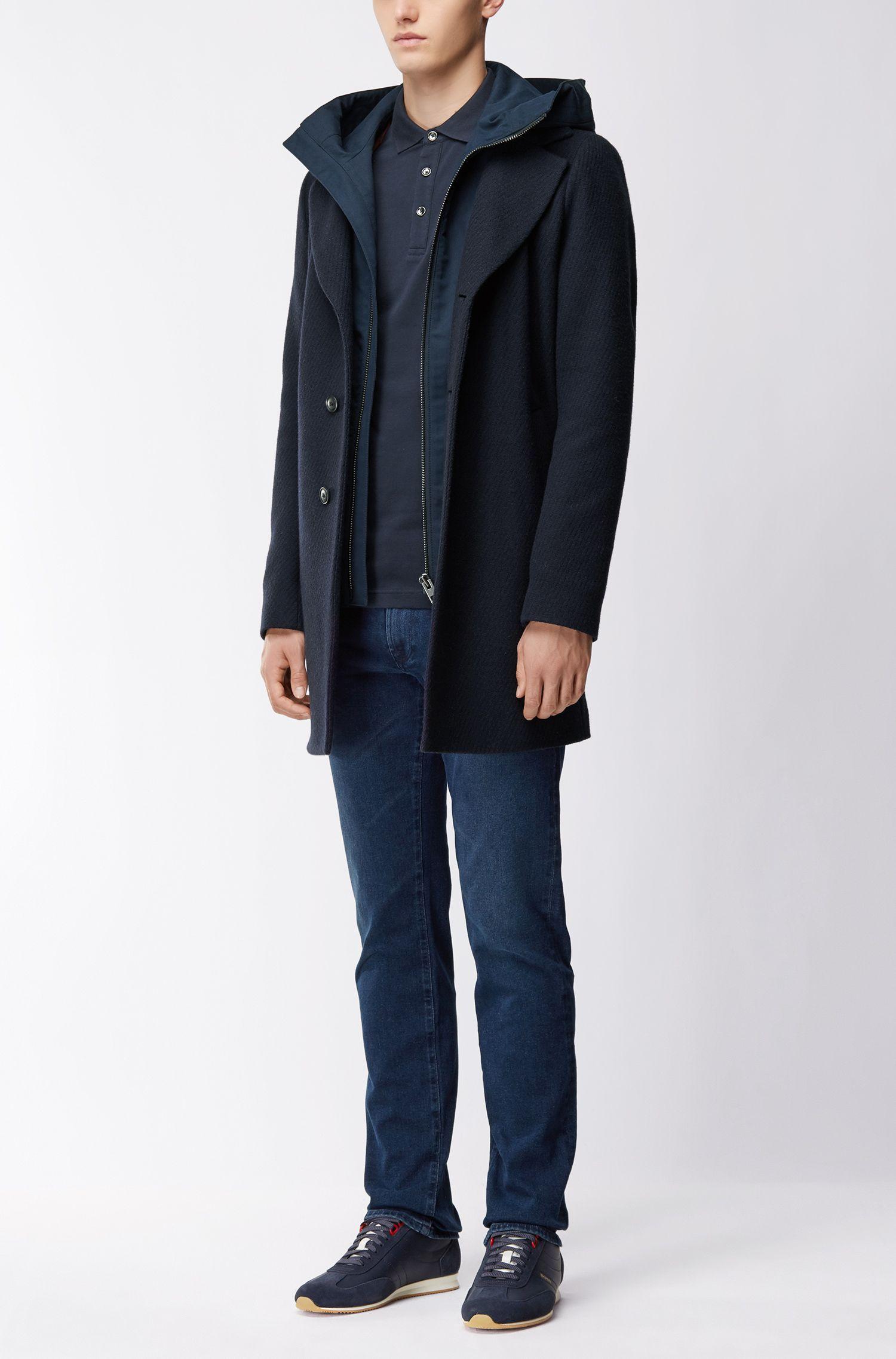 6de7ce11 ... Slim-fit Polo Shirt In Stretch Cotton Piqué for Men - Lyst. Visit HUGO  BOSS. Tap to visit site