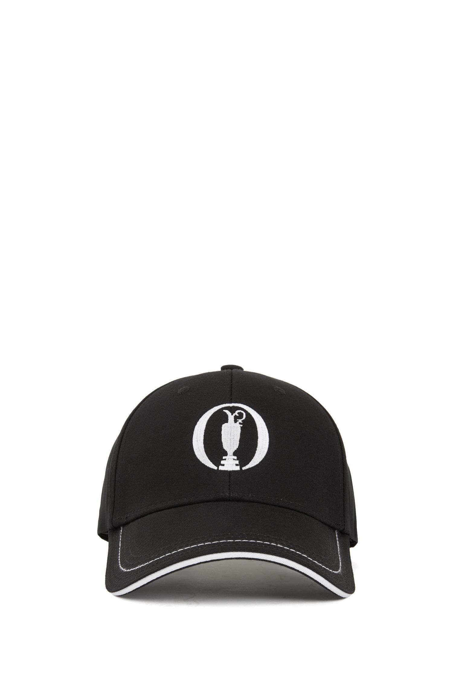 5694e530eb8 BOSS - Black The Open Exclusive Cap In Cotton Twill for Men - Lyst. View  fullscreen
