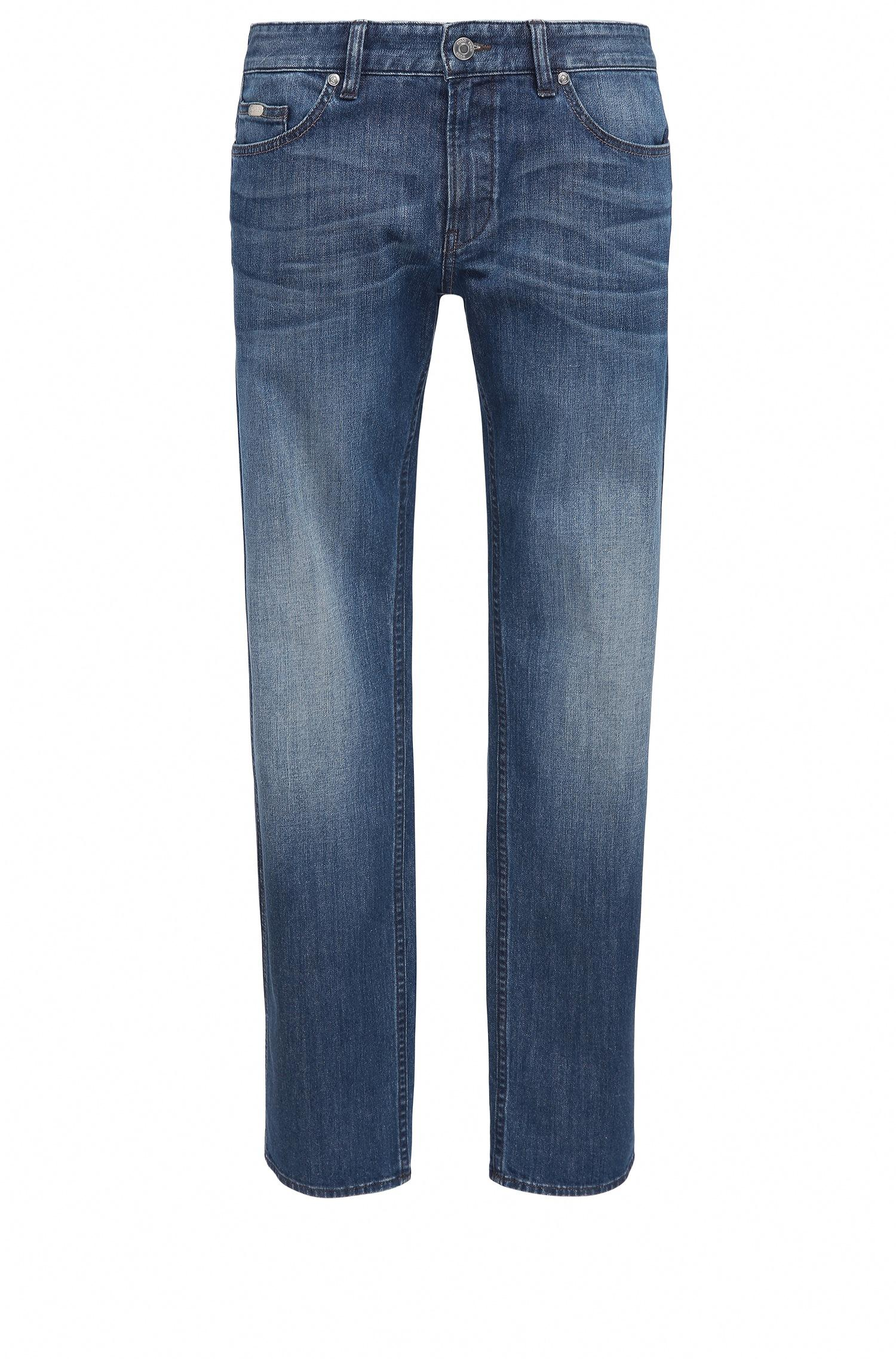 boss green slim fit jeans in comfort stretch denim in blue. Black Bedroom Furniture Sets. Home Design Ideas