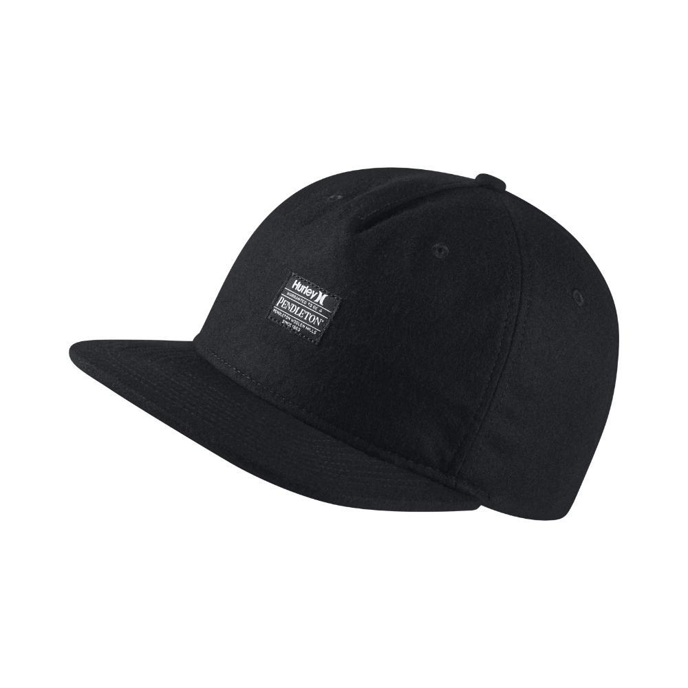 Lyst - Hurley Pendleton Adjustable Hat (black) in Black for Men ec646d94a535