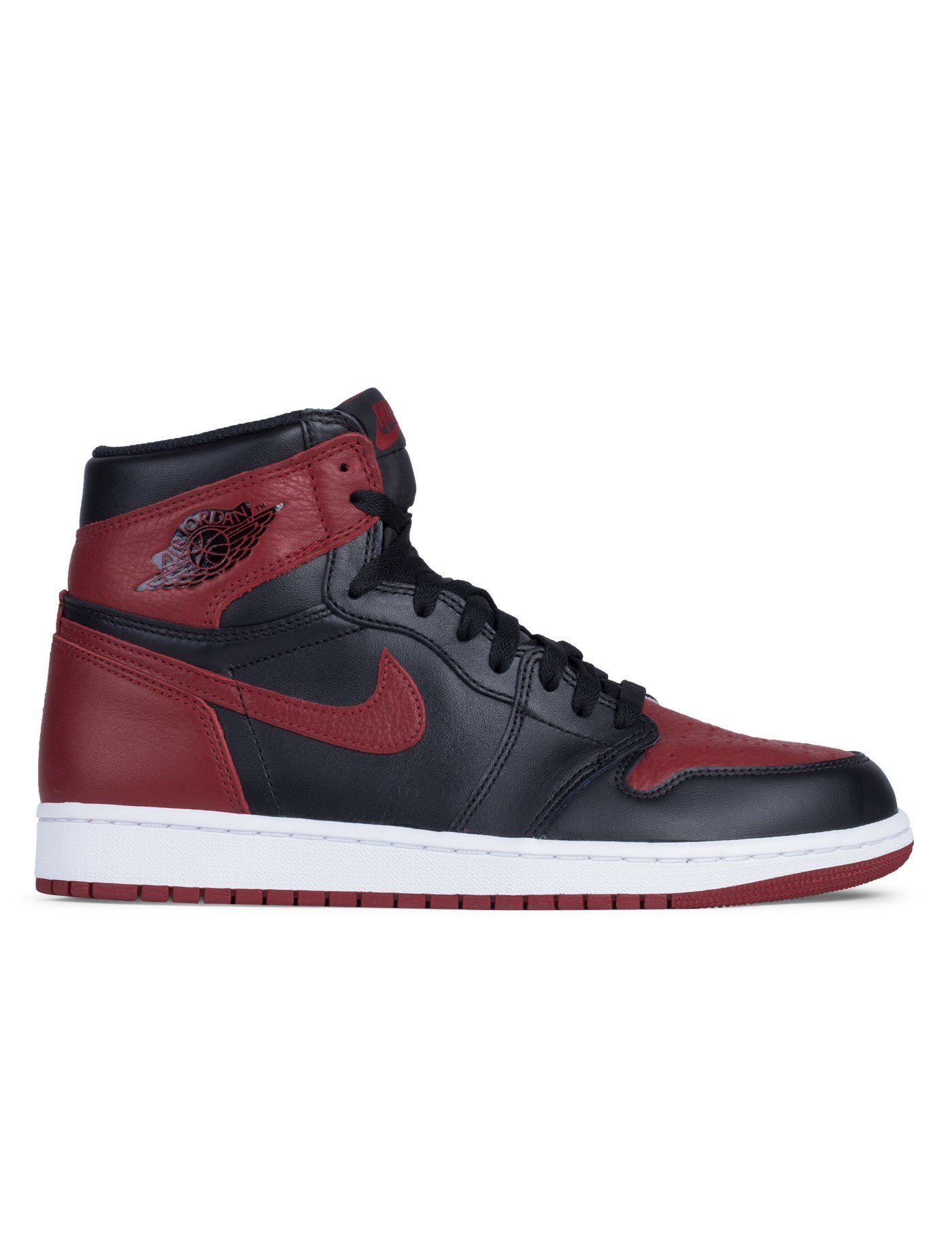 nike air jordan 1 bred 2016 retro in blue for men lyst